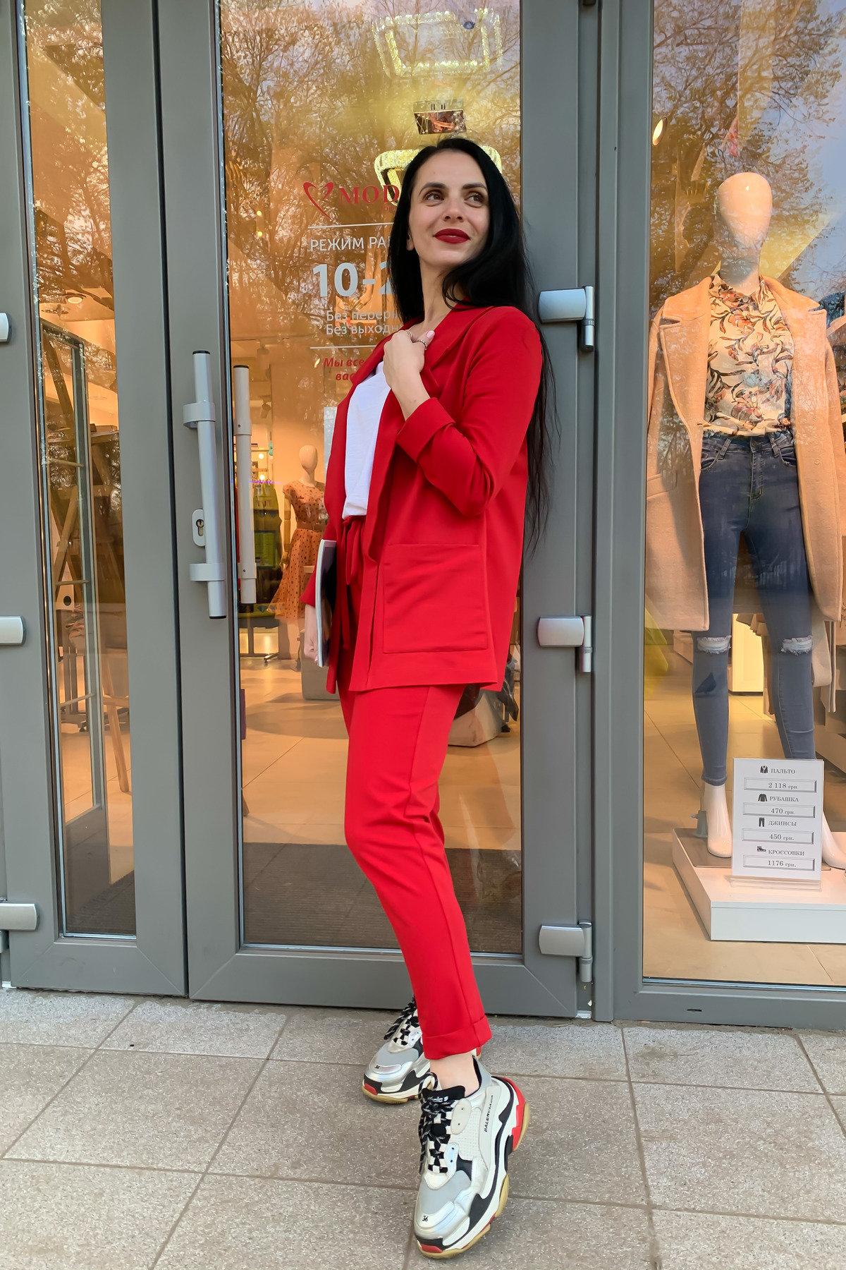 Костюм Морган 9182 АРТ. 45519 Цвет: Красный - фото 6, интернет магазин tm-modus.ru