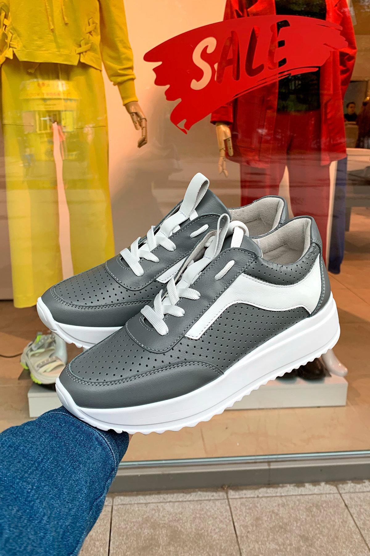 NEW CROSS 505 АРТ. 45618 Цвет: Серый/белый - фото 2, интернет магазин tm-modus.ru
