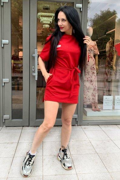 Купить Джома трикотаж двунитка турция тонкий платье 9273 оптом и в розницу