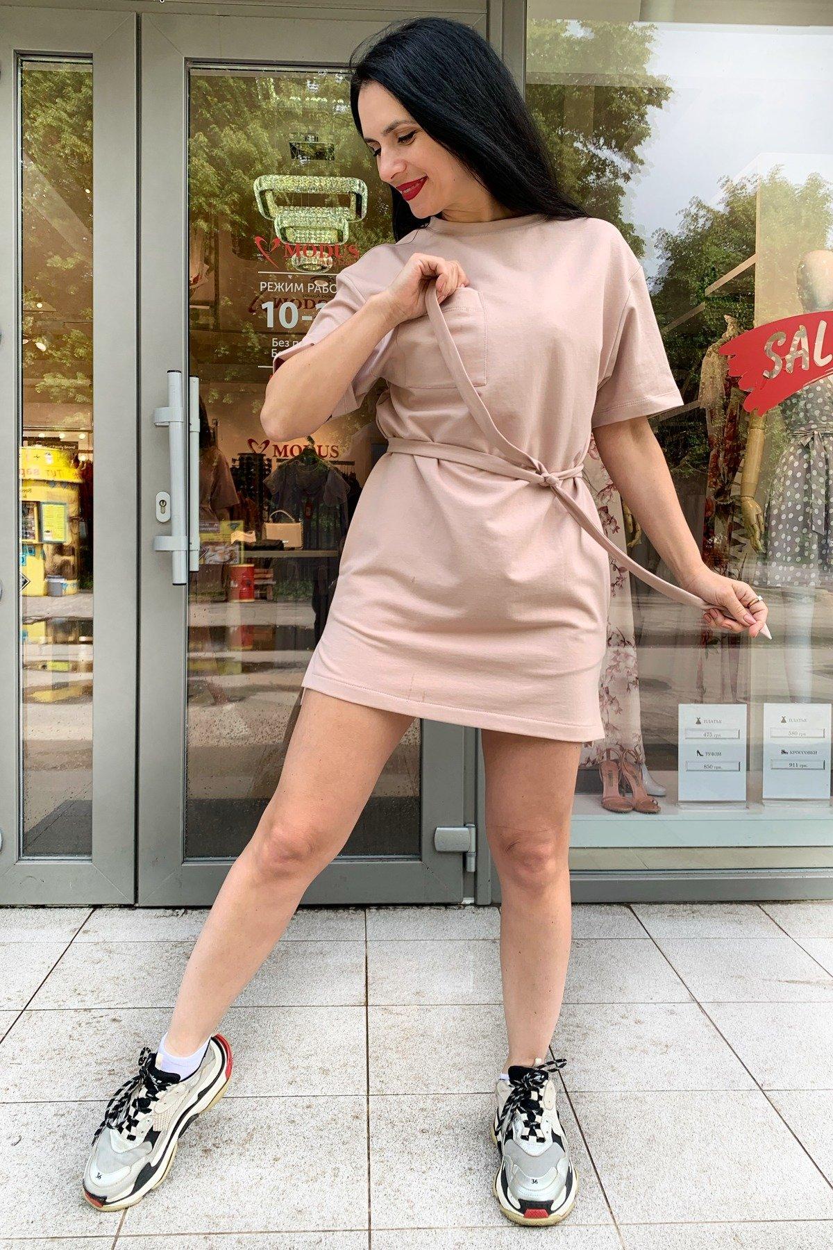Джома трикотаж двунитка турция тонкий платье 9273