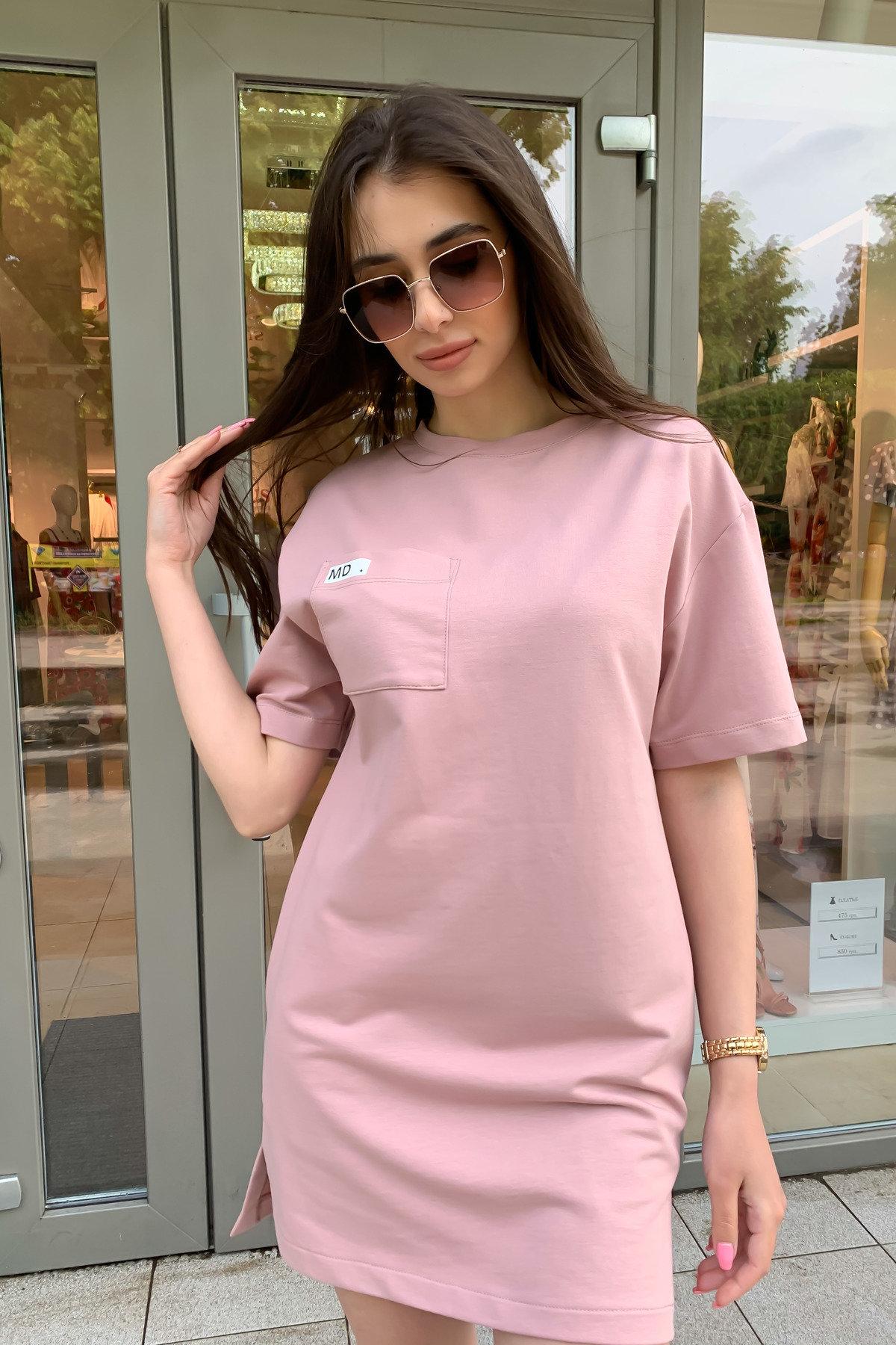 Платье Джома 9273 АРТ. 45613 Цвет: Пудра - фото 1, интернет магазин tm-modus.ru