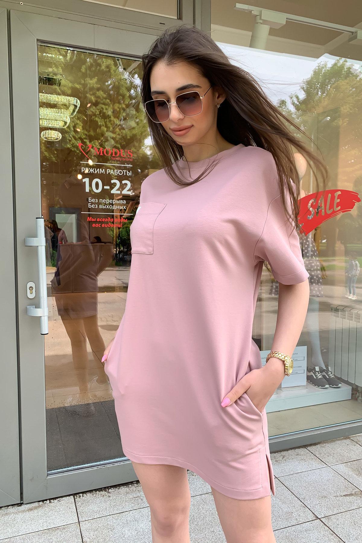 Платье Джома 9273 АРТ. 45613 Цвет: Пудра - фото 2, интернет магазин tm-modus.ru