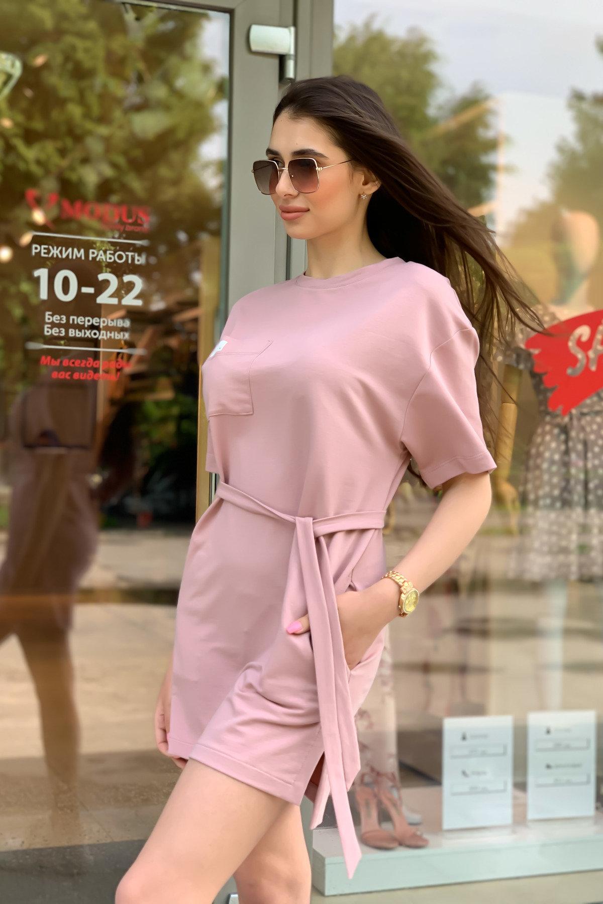 Платье Джома 9273 АРТ. 45613 Цвет: Пудра - фото 4, интернет магазин tm-modus.ru