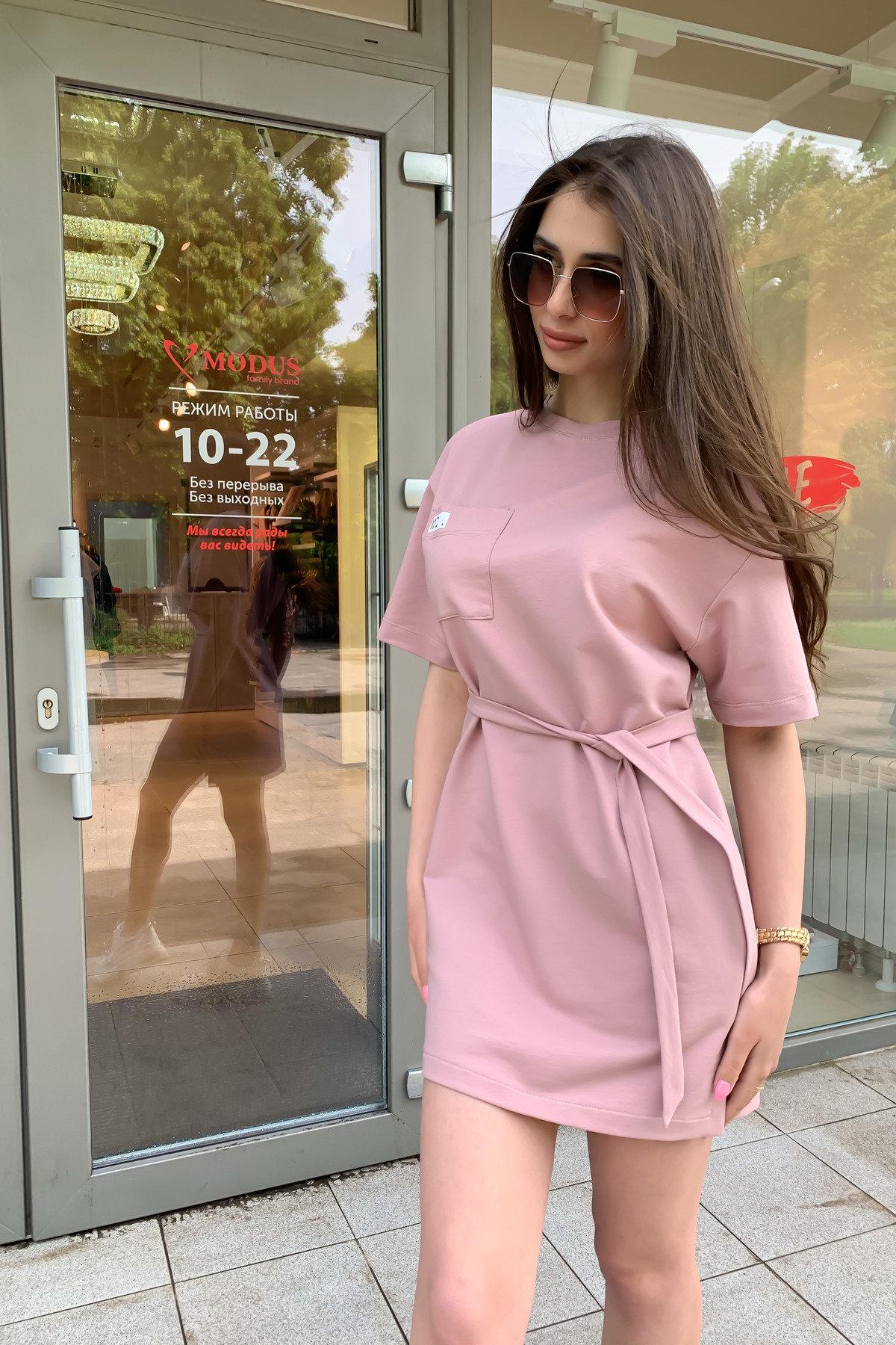 Платье Джома 9273 АРТ. 45613 Цвет: Пудра - фото 5, интернет магазин tm-modus.ru