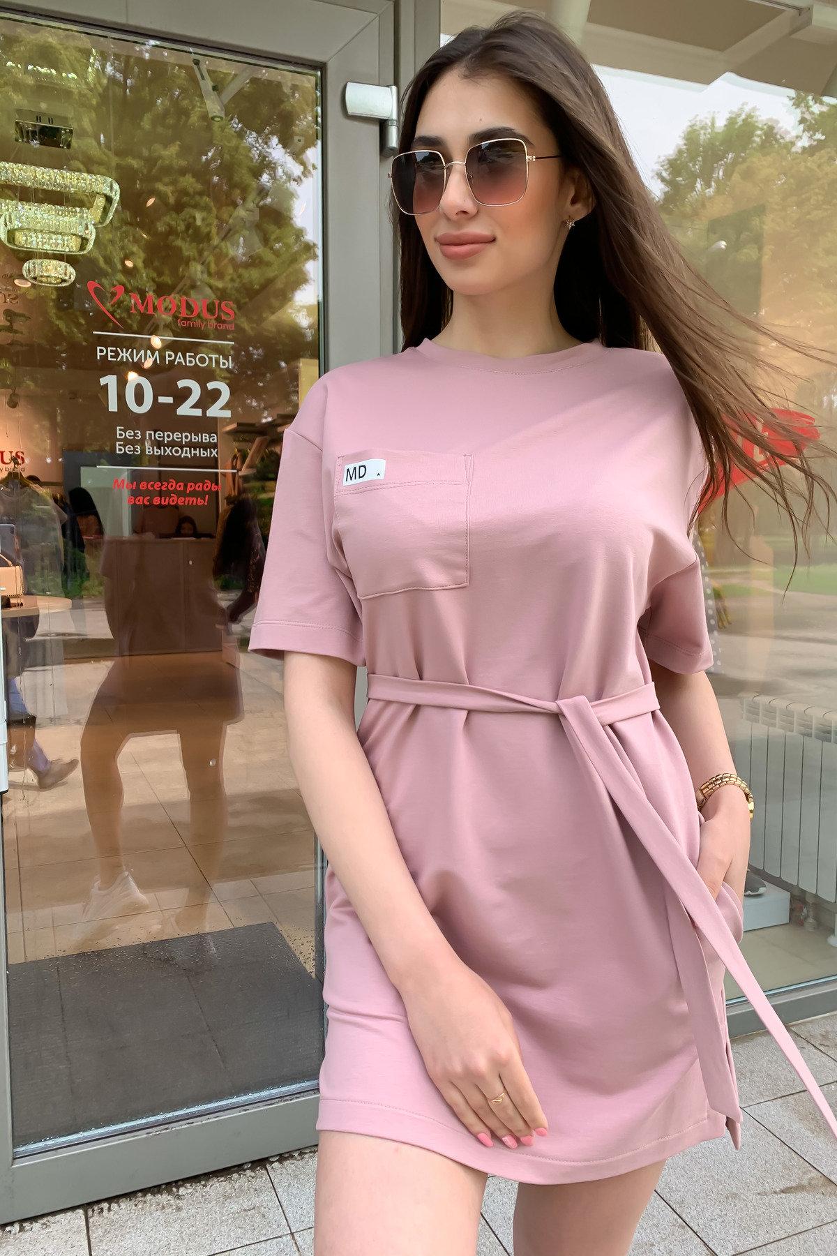 Платье Джома 9273 АРТ. 45613 Цвет: Пудра - фото 7, интернет магазин tm-modus.ru