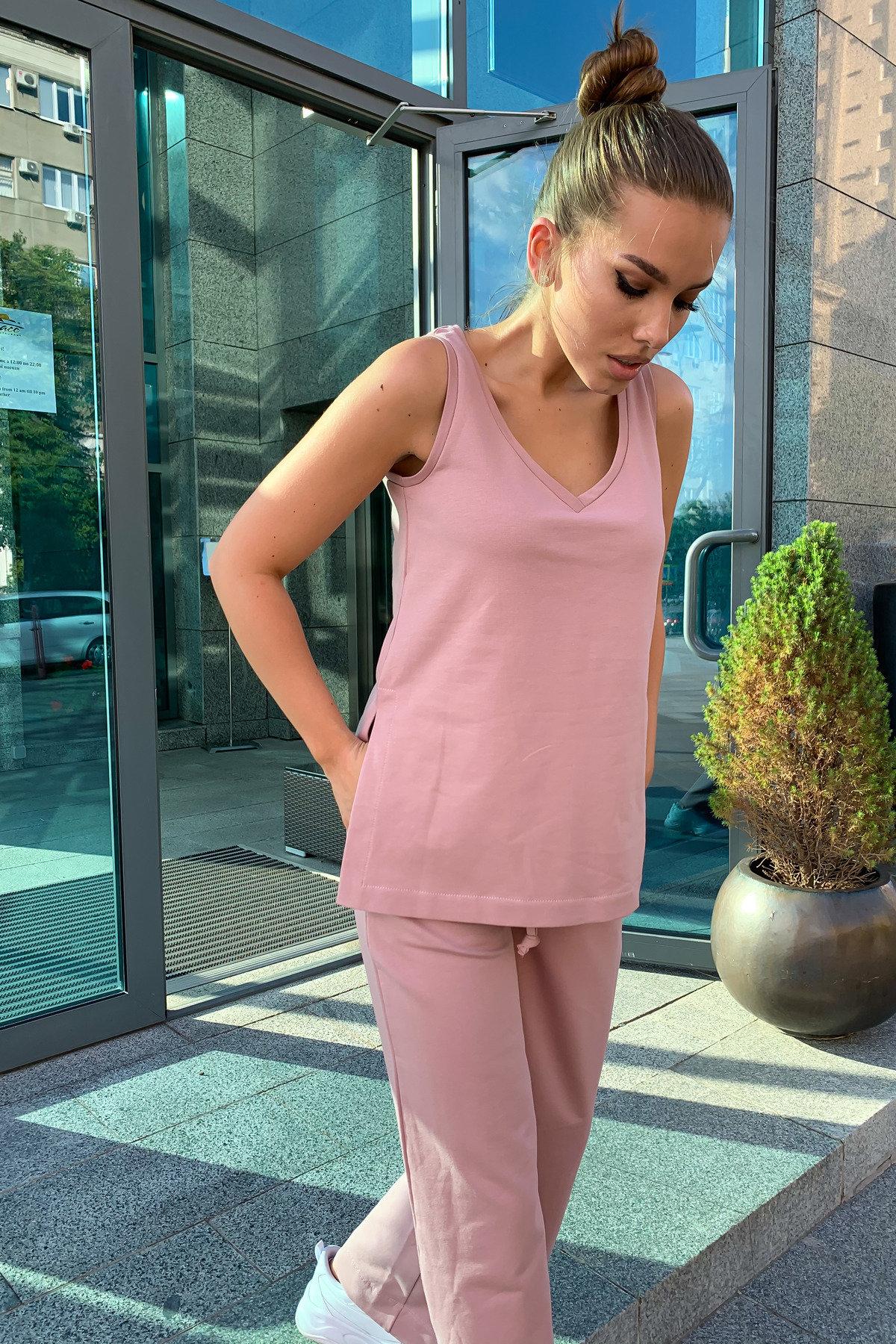 Лайм  костюм  из двунитки тонкий 9402 АРТ. 45749 Цвет: Пудра - фото 11, интернет магазин tm-modus.ru