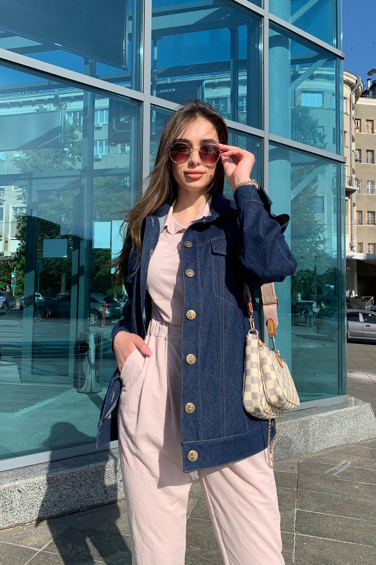 Жакет Реплей 9325 АРТ. 45665 Цвет: Т.синий - фото 1, интернет магазин tm-modus.ru