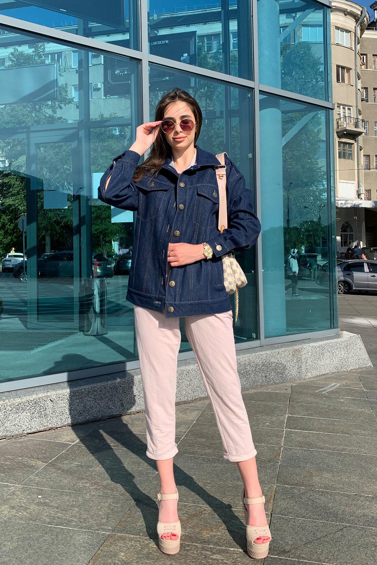 Жакет Реплей 9325 АРТ. 45665 Цвет: Т.синий - фото 2, интернет магазин tm-modus.ru