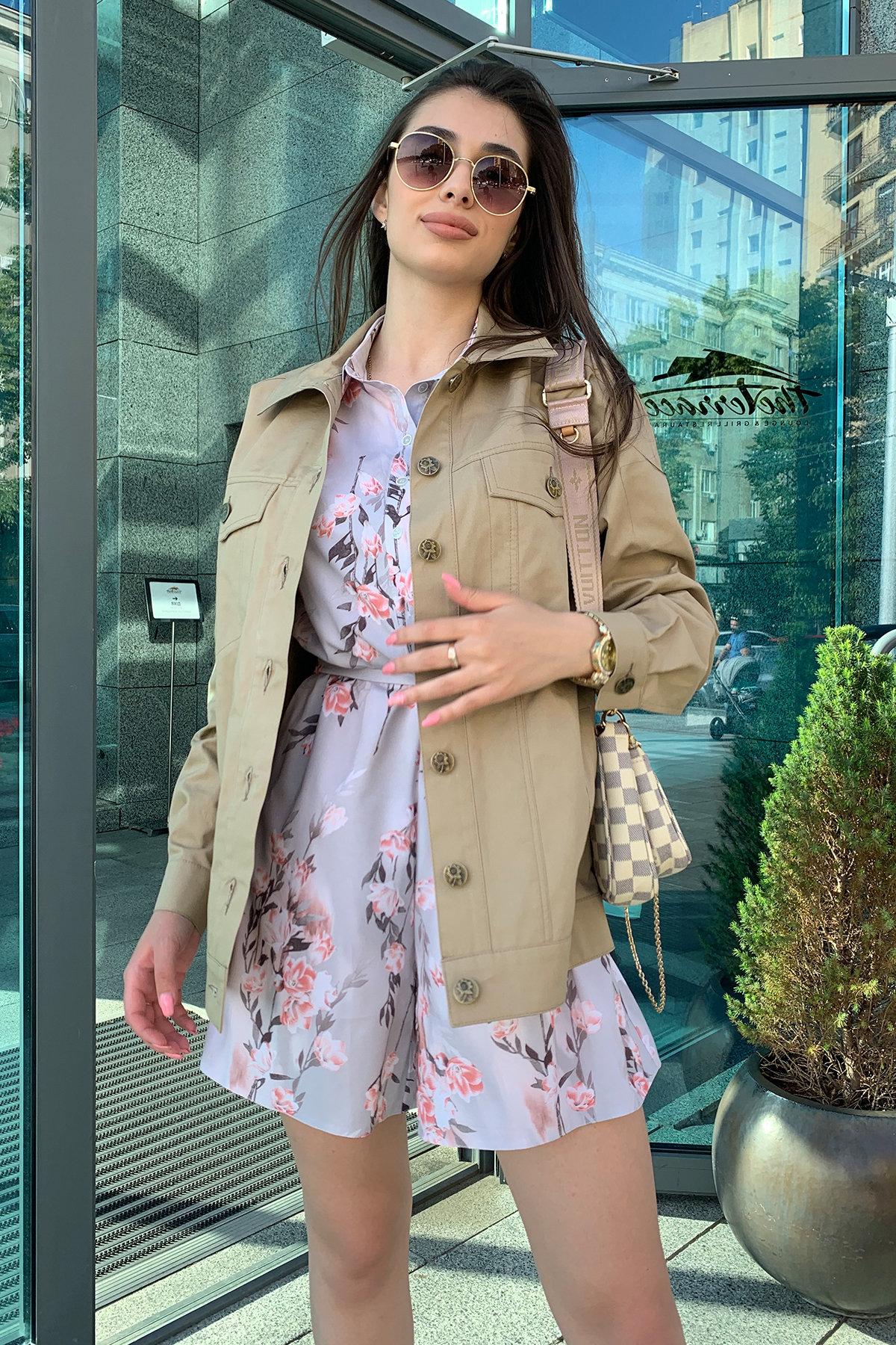 Жакет Релпей 9263 АРТ. 45599 Цвет: Бежевый - фото 2, интернет магазин tm-modus.ru