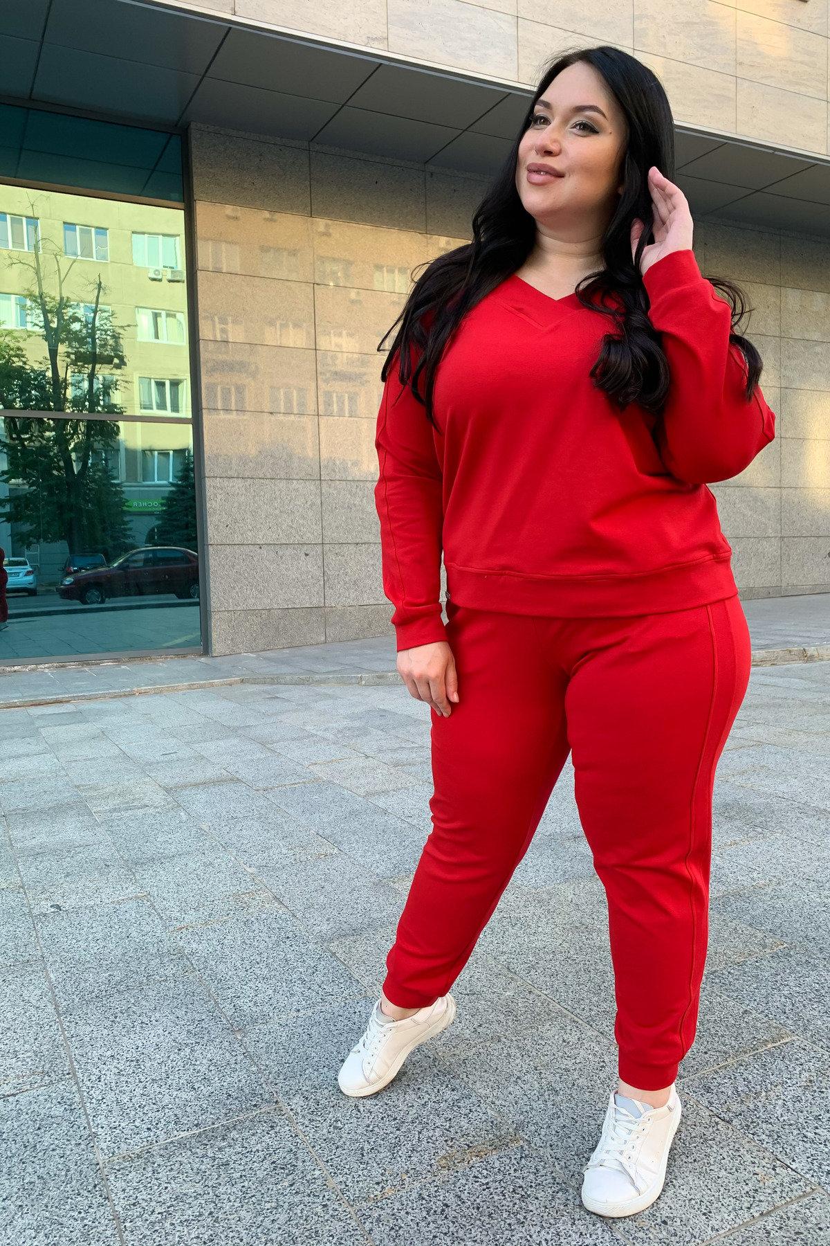 Костюм Стай DONNA 9363 АРТ. 45694 Цвет: Красный - фото 5, интернет магазин tm-modus.ru