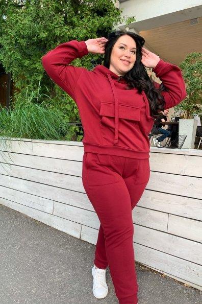 Купить Бруклин DONNA трикотаж 3х нитка прогулочный костюм 9322 оптом и в розницу