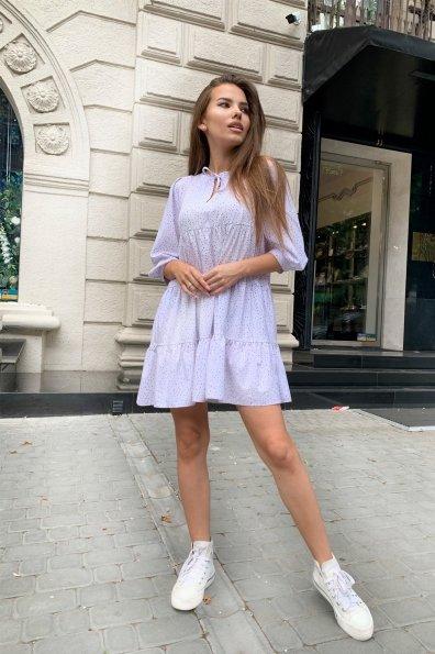 Купить Нинель принт софт платье 9461 оптом и в розницу