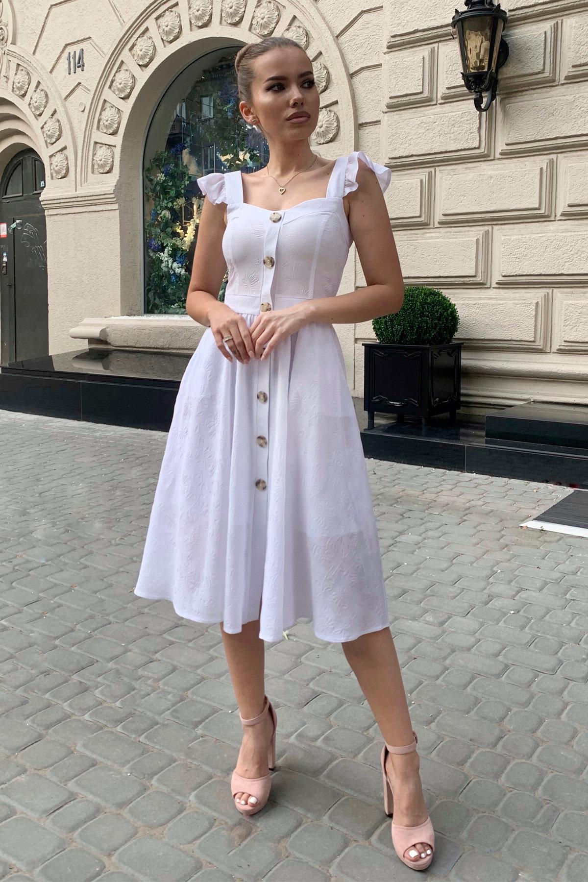 Платье Ундина 9441 АРТ. 45802 Цвет: Белый - фото 1, интернет магазин tm-modus.ru