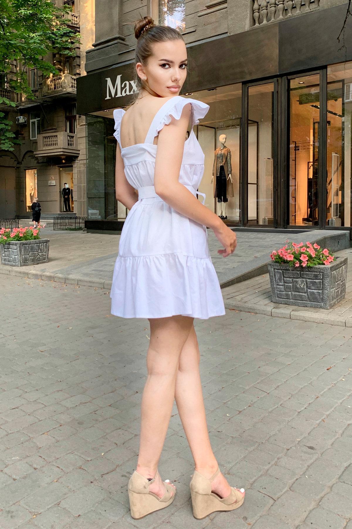Платье Соло 9455 АРТ. 45812 Цвет: Белый - фото 7, интернет магазин tm-modus.ru