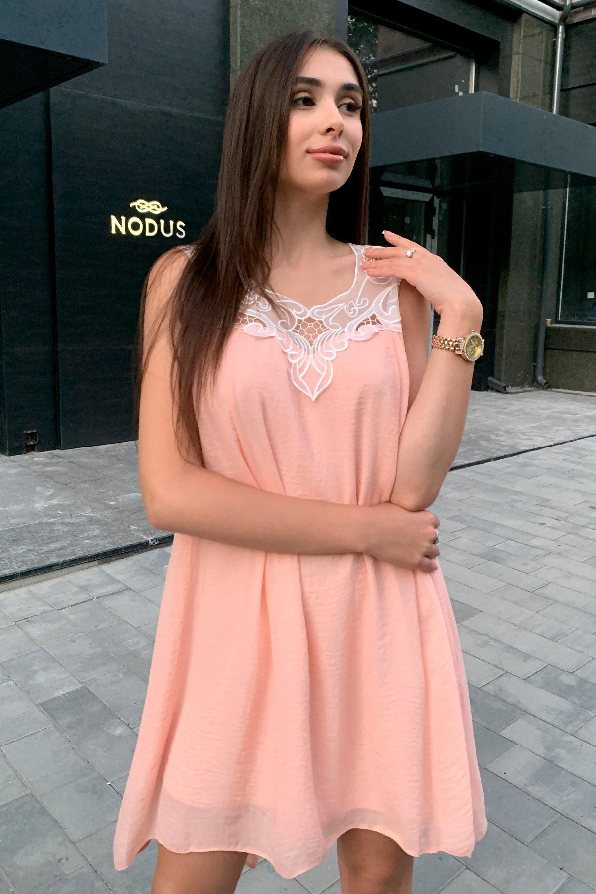 Платье Альбина 3110 АРТ. 16062 Цвет: Персик - фото 8, интернет магазин tm-modus.ru