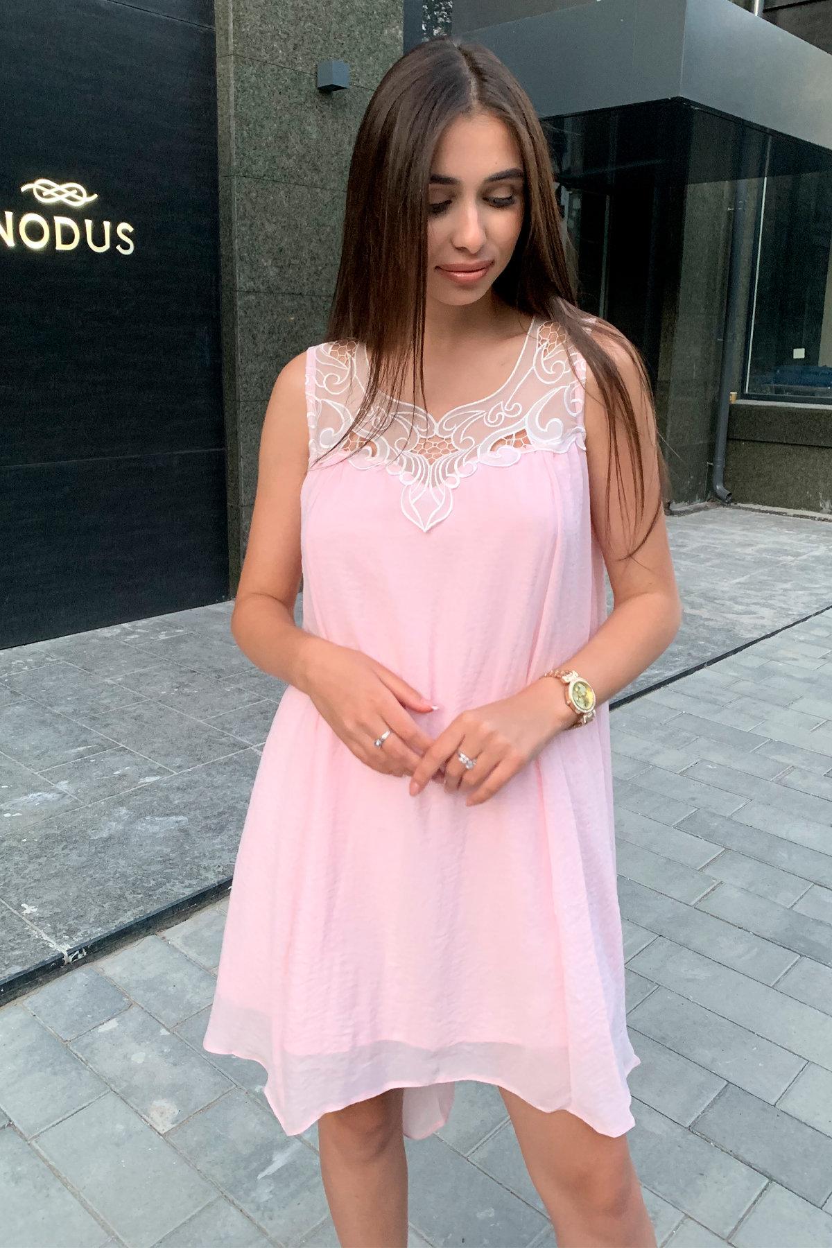 Платье Альбина 3110 АРТ. 16102 Цвет:  Розовый Светлый - фото 2, интернет магазин tm-modus.ru
