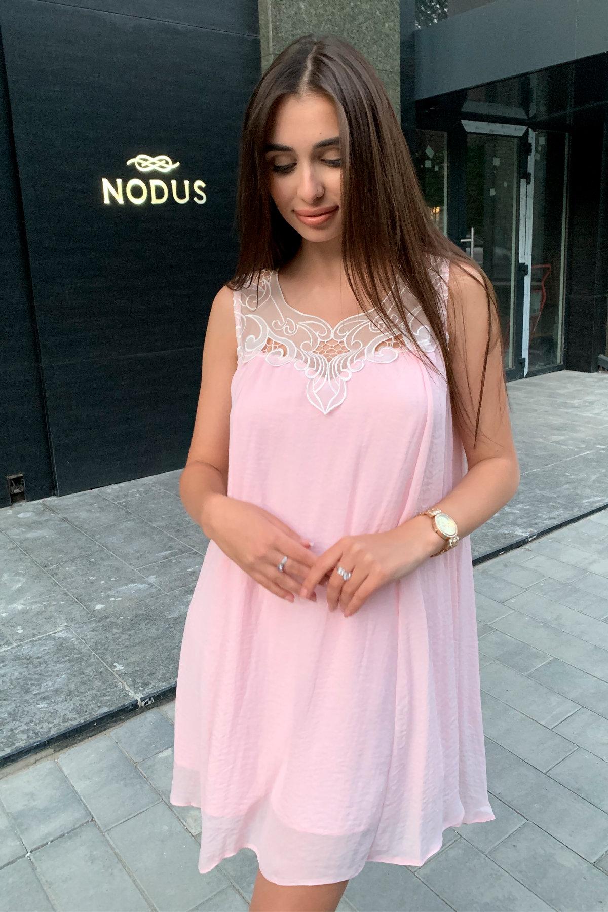 Платье Альбина 3110 АРТ. 16102 Цвет:  Розовый Светлый - фото 4, интернет магазин tm-modus.ru
