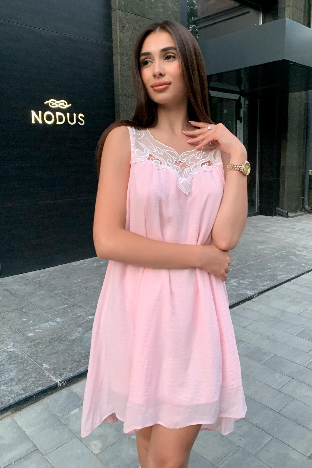 Платье Альбина 3110 АРТ. 16102 Цвет:  Розовый Светлый - фото 6, интернет магазин tm-modus.ru