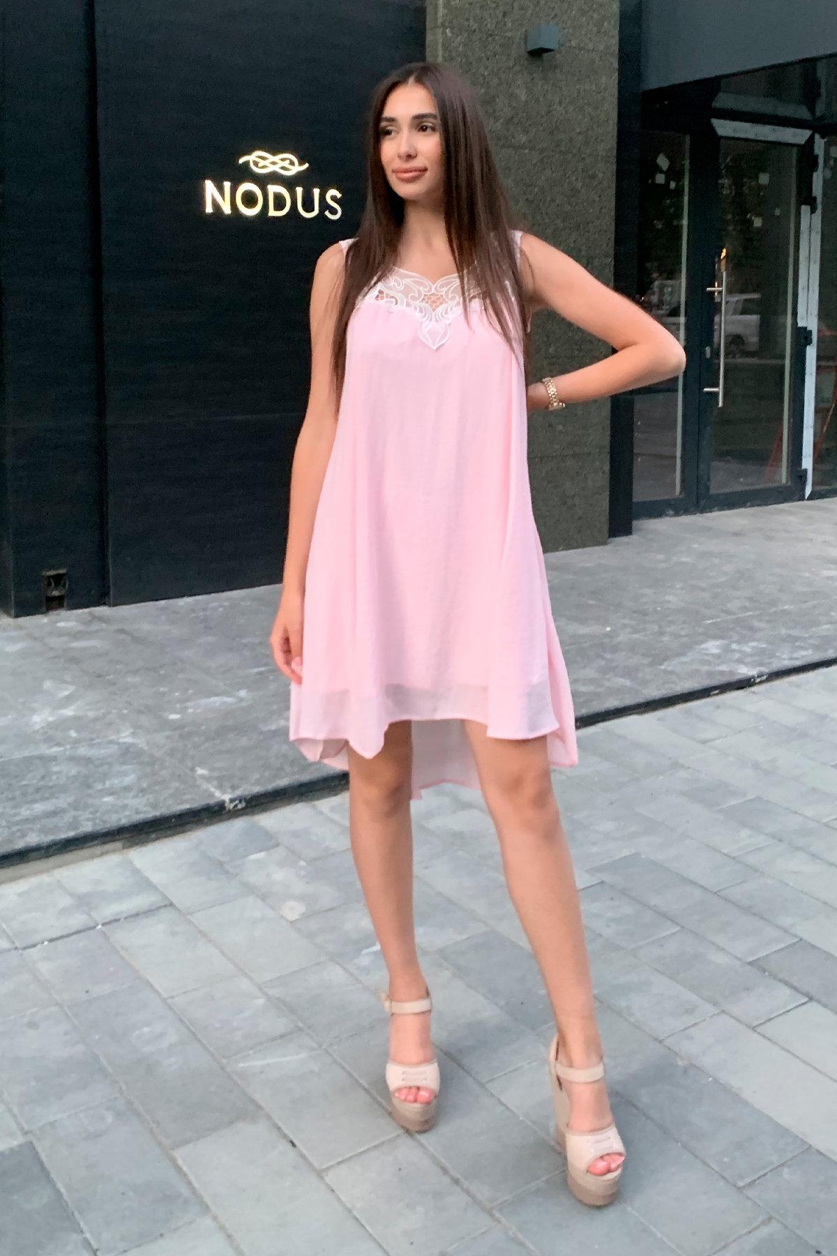 Платье Альбина 3110 АРТ. 16102 Цвет:  Розовый Светлый - фото 10, интернет магазин tm-modus.ru