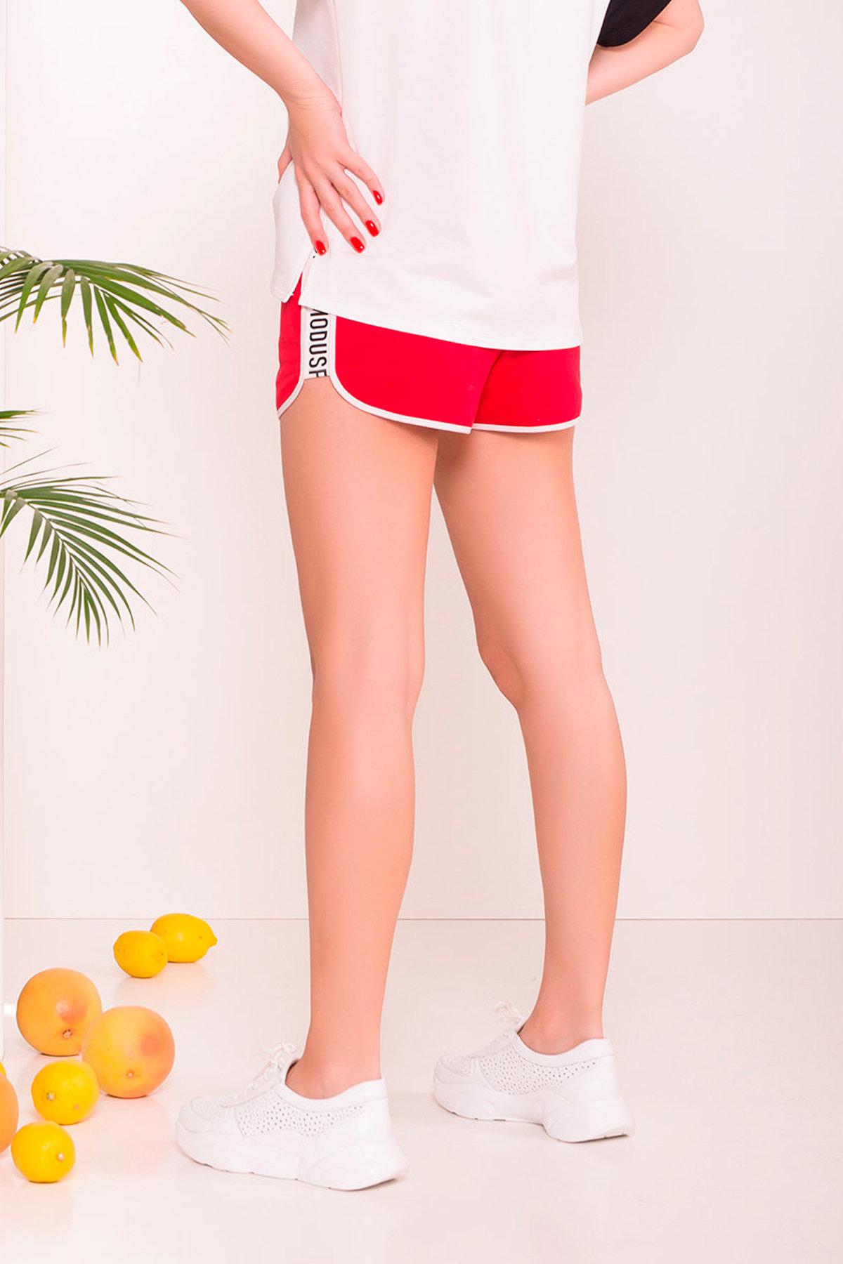 Шорты Хьюмен 9495 АРТ. 45842 Цвет: Красный/молоко/чёрный - фото 3, интернет магазин tm-modus.ru