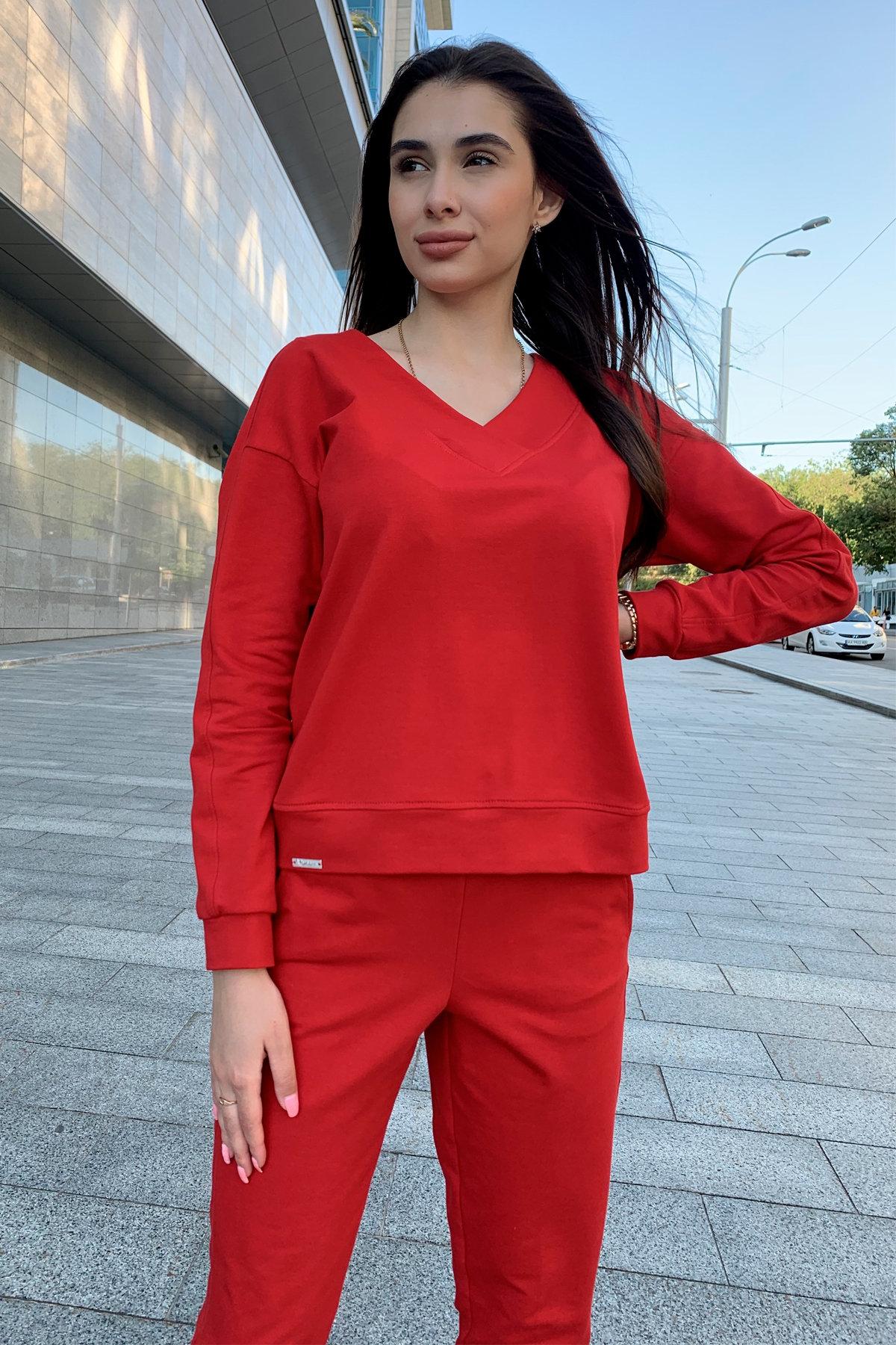 Костюм Стай 9342 АРТ. 45693 Цвет: Красный - фото 1, интернет магазин tm-modus.ru