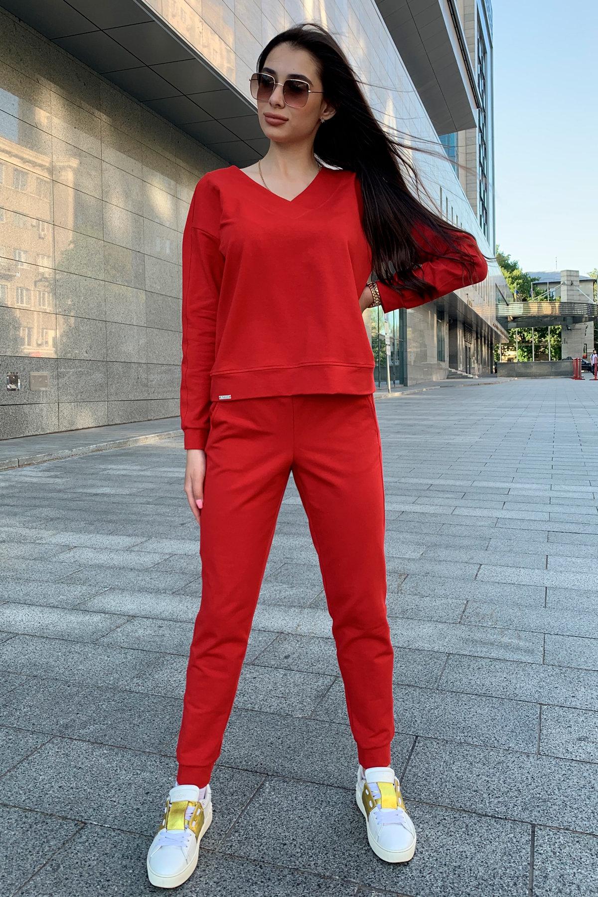 Костюм Стай 9342 АРТ. 45693 Цвет: Красный - фото 4, интернет магазин tm-modus.ru