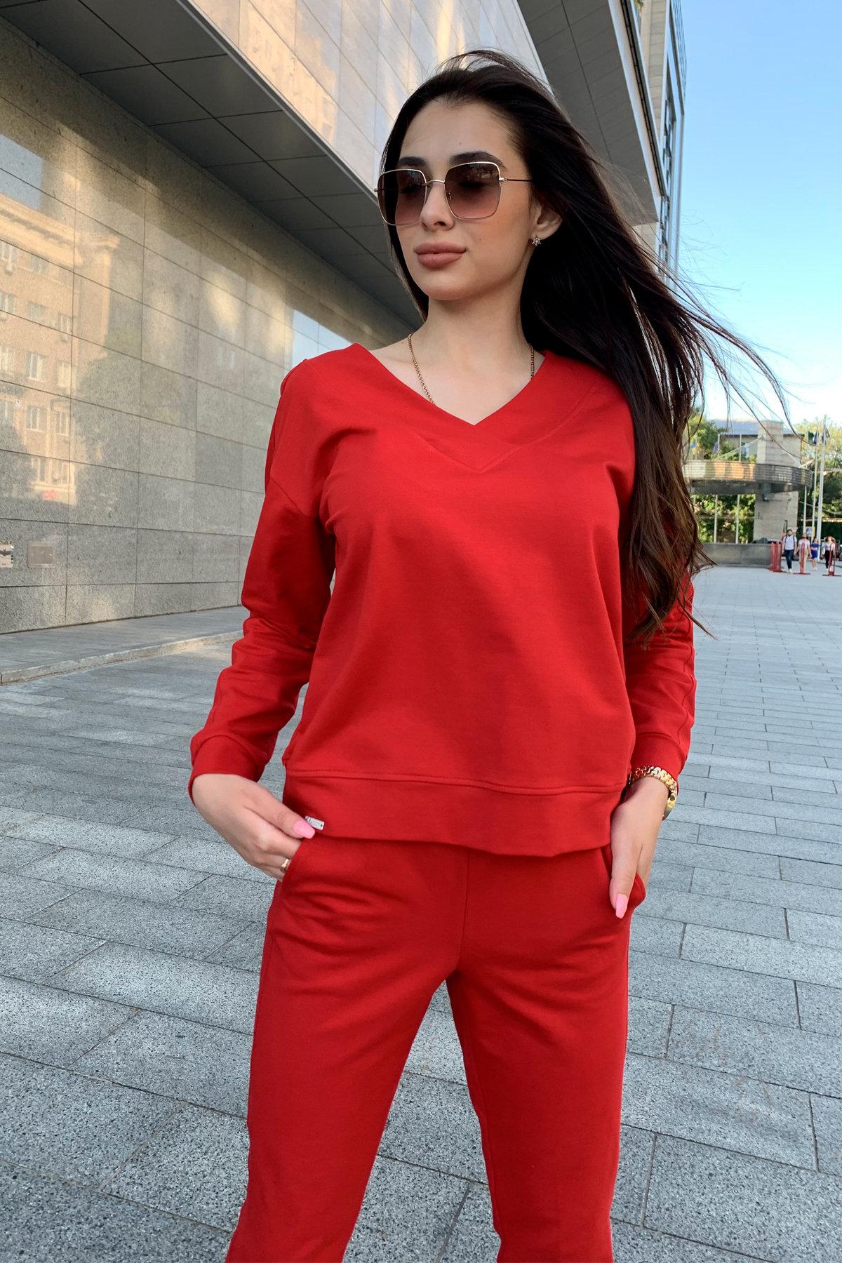 Костюм Стай 9342 АРТ. 45693 Цвет: Красный - фото 5, интернет магазин tm-modus.ru