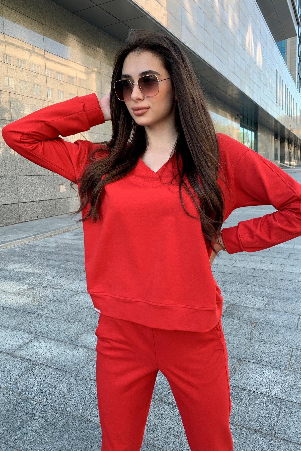 Костюм Стай 9342 АРТ. 45693 Цвет: Красный - фото 7, интернет магазин tm-modus.ru