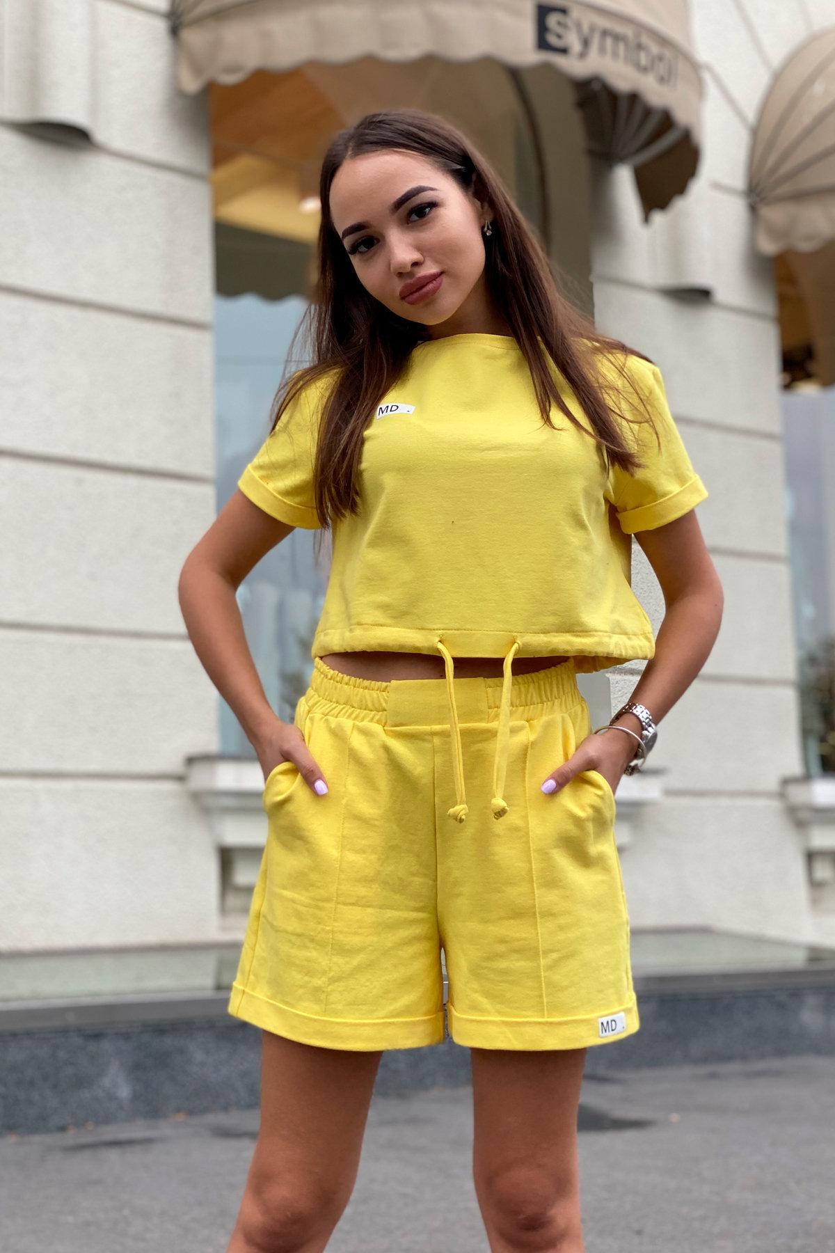 Костюм Фреш 9252 АРТ. 45823 Цвет: Желтый - фото 4, интернет магазин tm-modus.ru