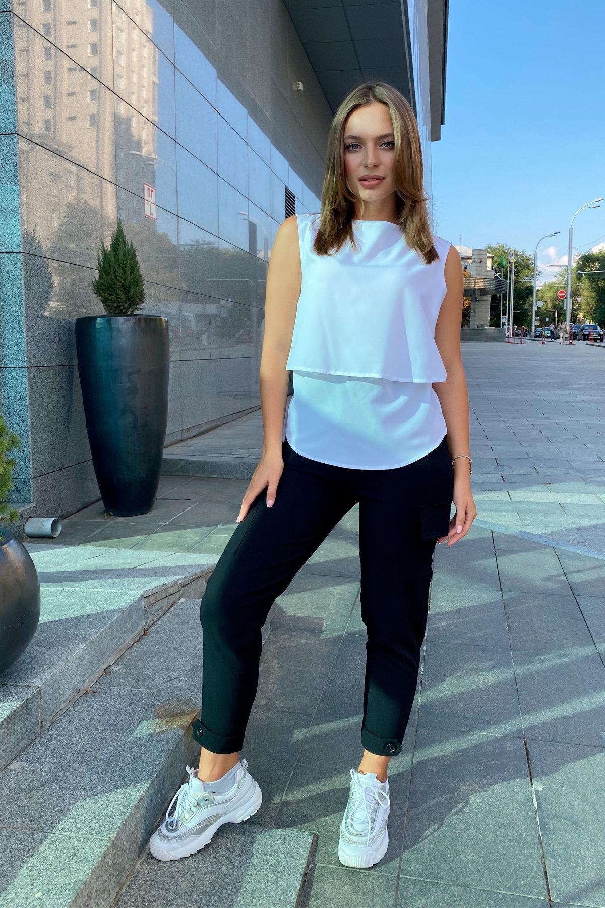 Блуза Арома Лайт 8835 АРТ. 45151 Цвет: Белый - фото 5, интернет магазин tm-modus.ru
