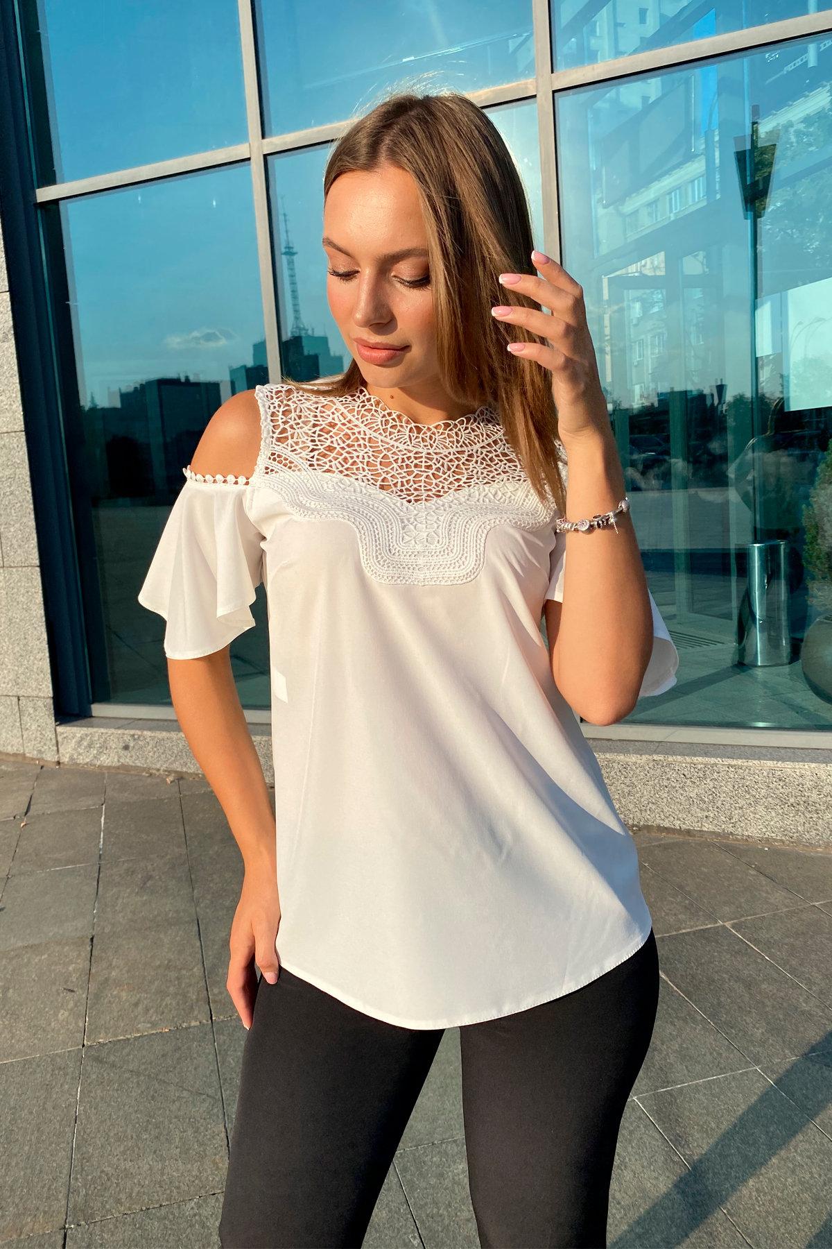 Купить блузку оптом от производителя  Блузка Лотос 9600
