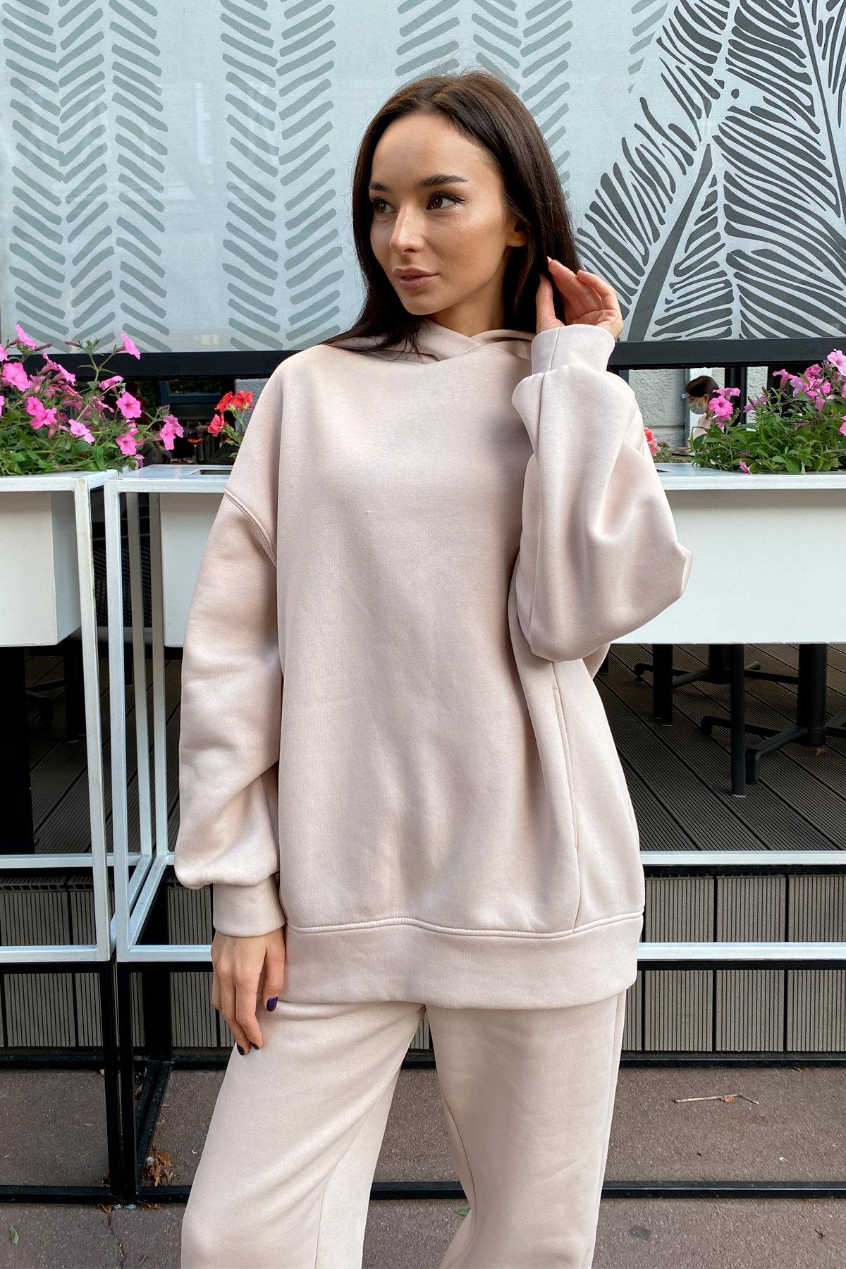 Женская одежда оптом Украина Modus  Марион Oversize трикотаж 3х нитка с начесом костюм 9651