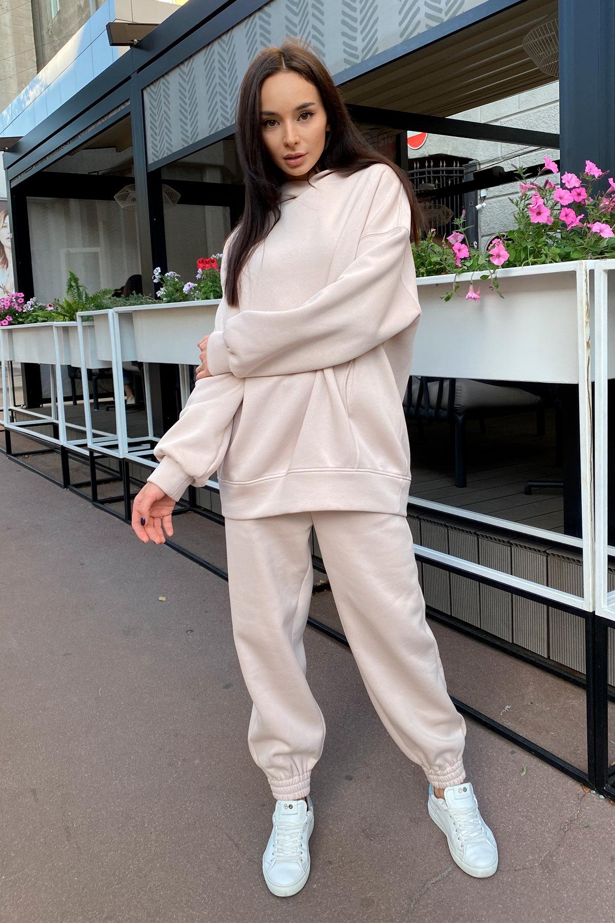 Марион костюм в  стиле Oversize  3х нитка 9651 АРТ. 45952 Цвет: св. бежевый - фото 5, интернет магазин tm-modus.ru