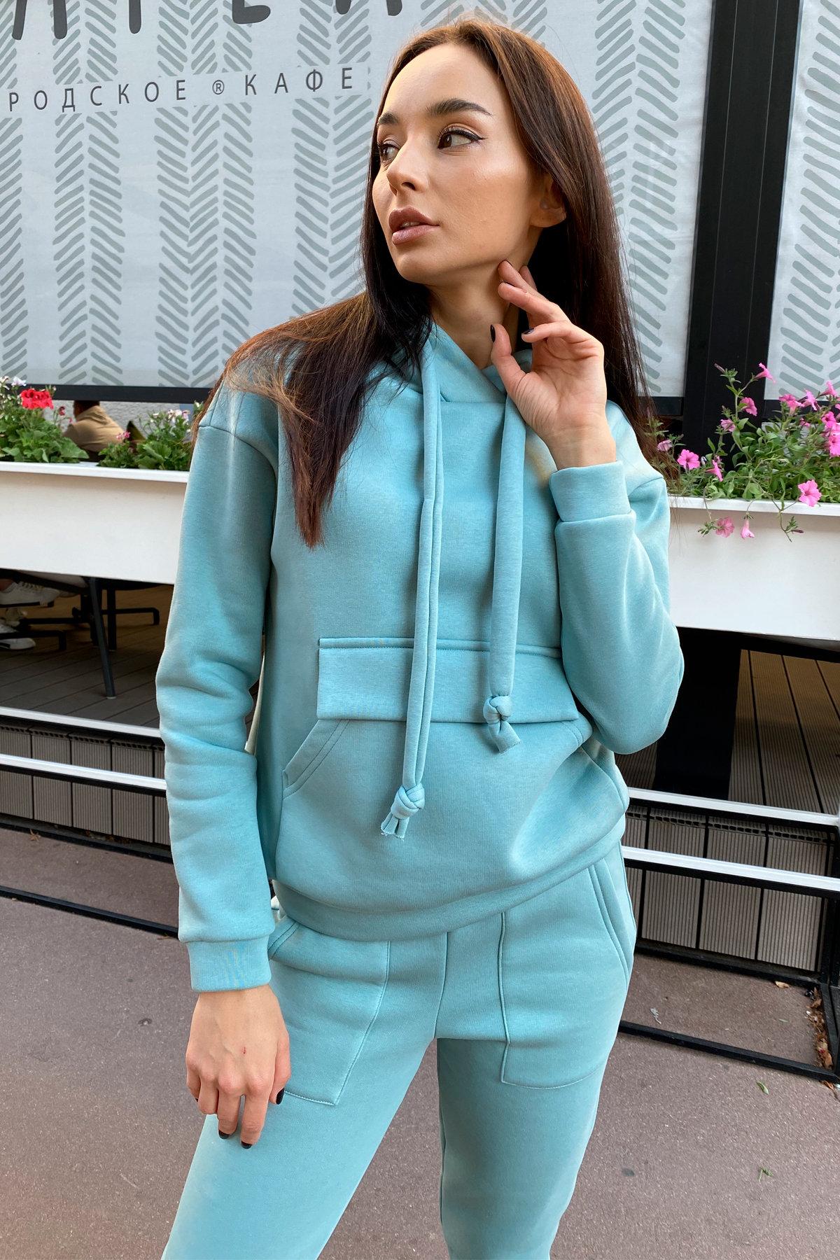 Бруклин  прогулочный костюм 3х нитка с начесом  9663 АРТ. 45960 Цвет: Олива - фото 4, интернет магазин tm-modus.ru