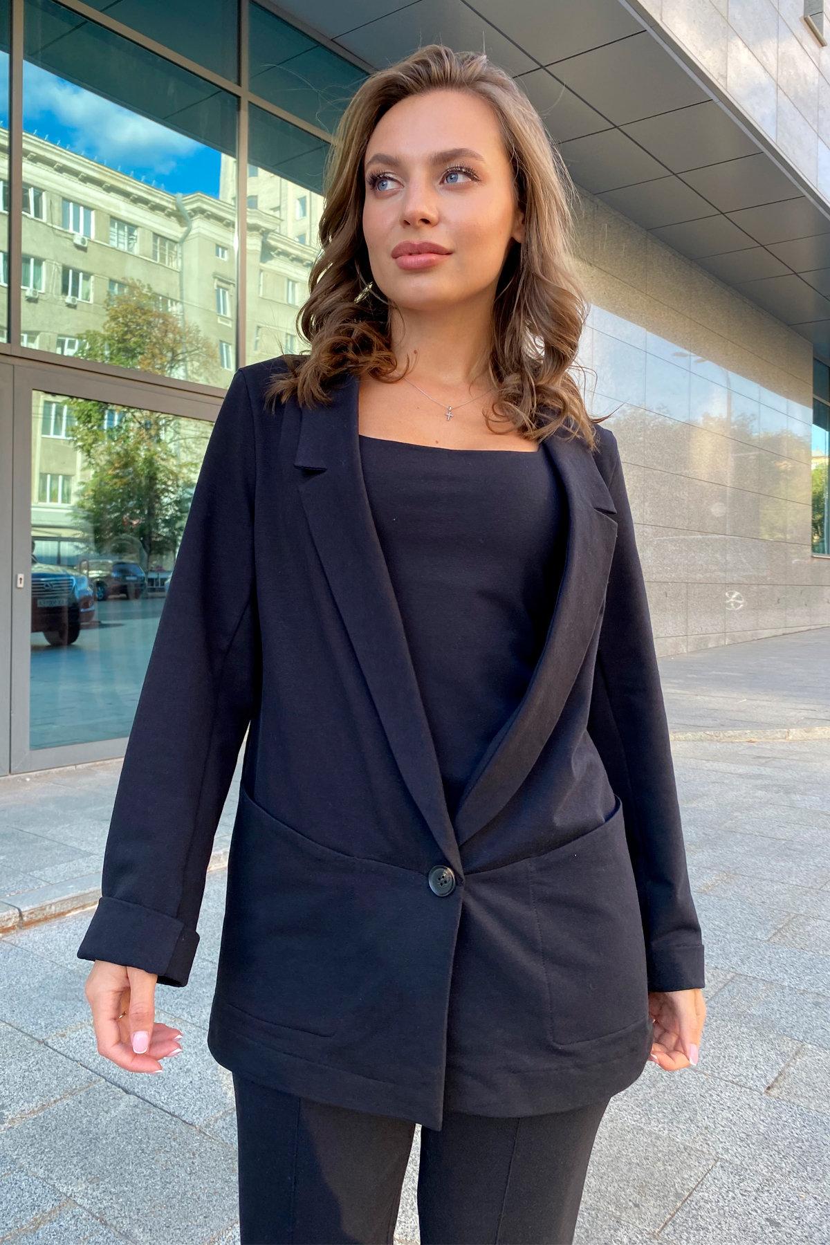 Жакет Редми 9638 АРТ. 45935 Цвет: Черный - фото 5, интернет магазин tm-modus.ru