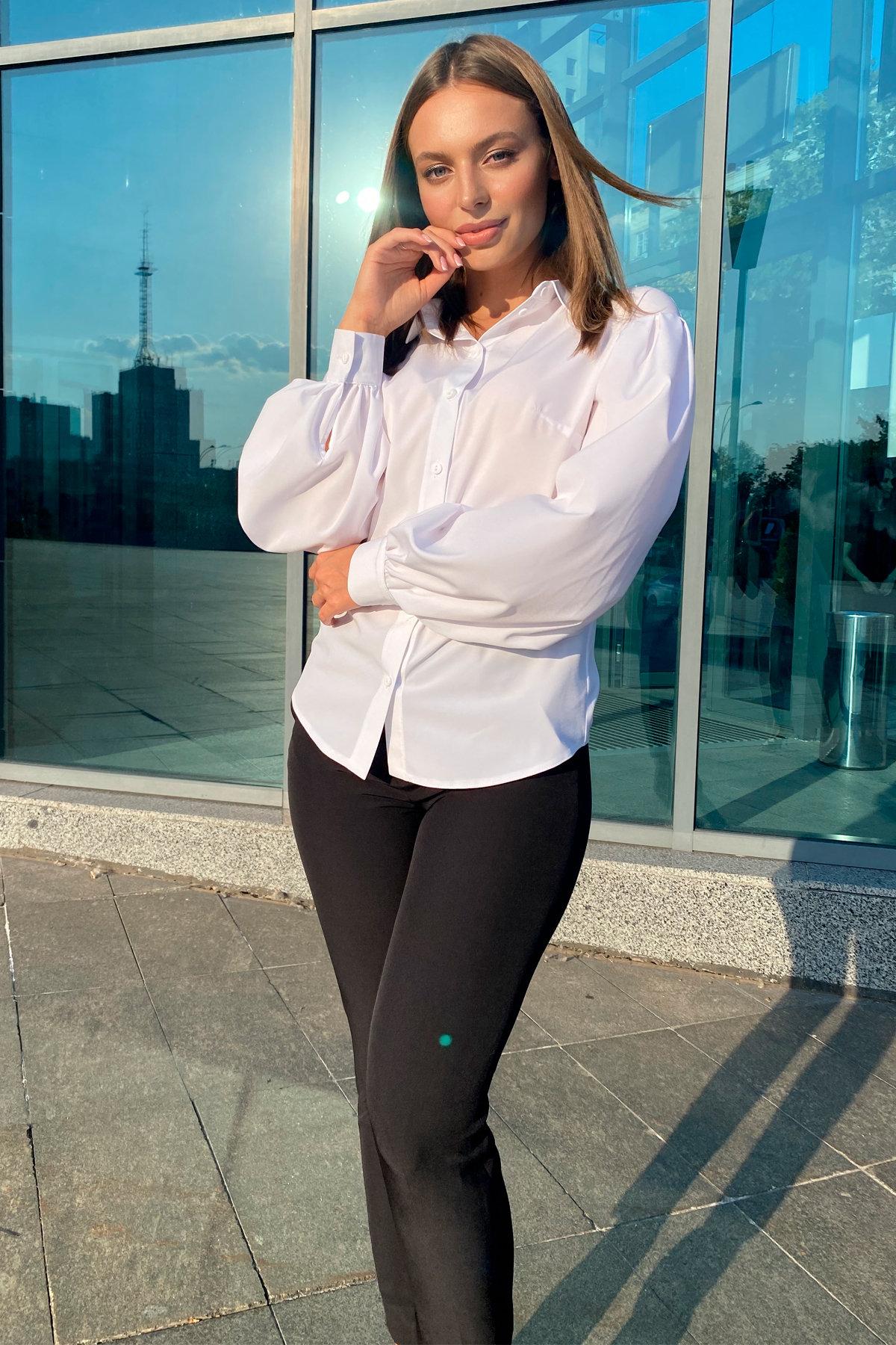 Блузка Гейм 9604 АРТ. 45924 Цвет: Белый - фото 8, интернет магазин tm-modus.ru