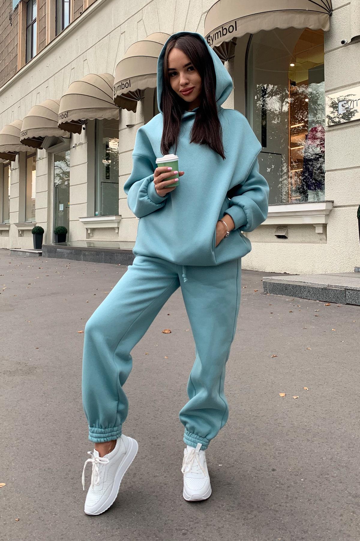 Марион костюм в  стиле Oversize  3х нитка 9651 АРТ. 45983 Цвет: Олива - фото 3, интернет магазин tm-modus.ru