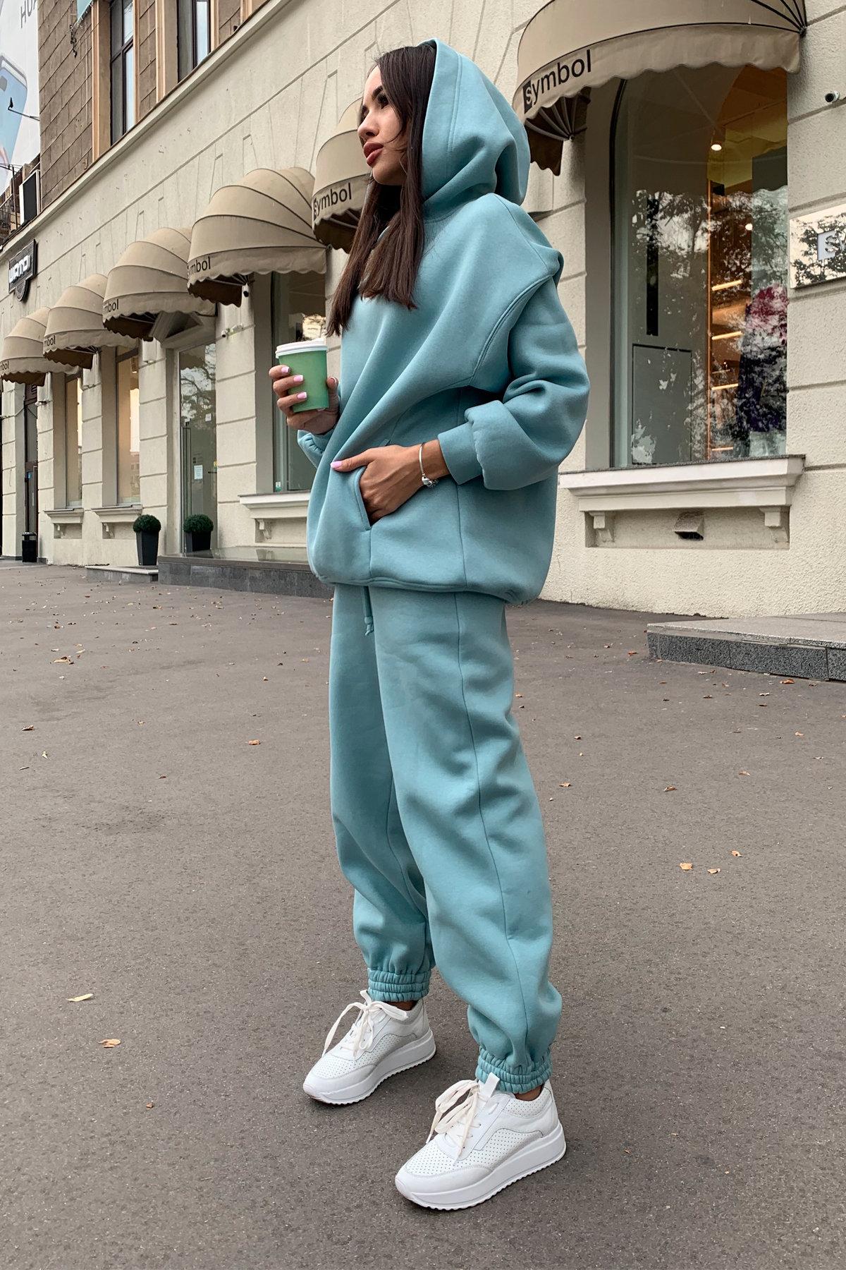 Марион костюм в  стиле Oversize  3х нитка 9651 АРТ. 45983 Цвет: Олива - фото 4, интернет магазин tm-modus.ru