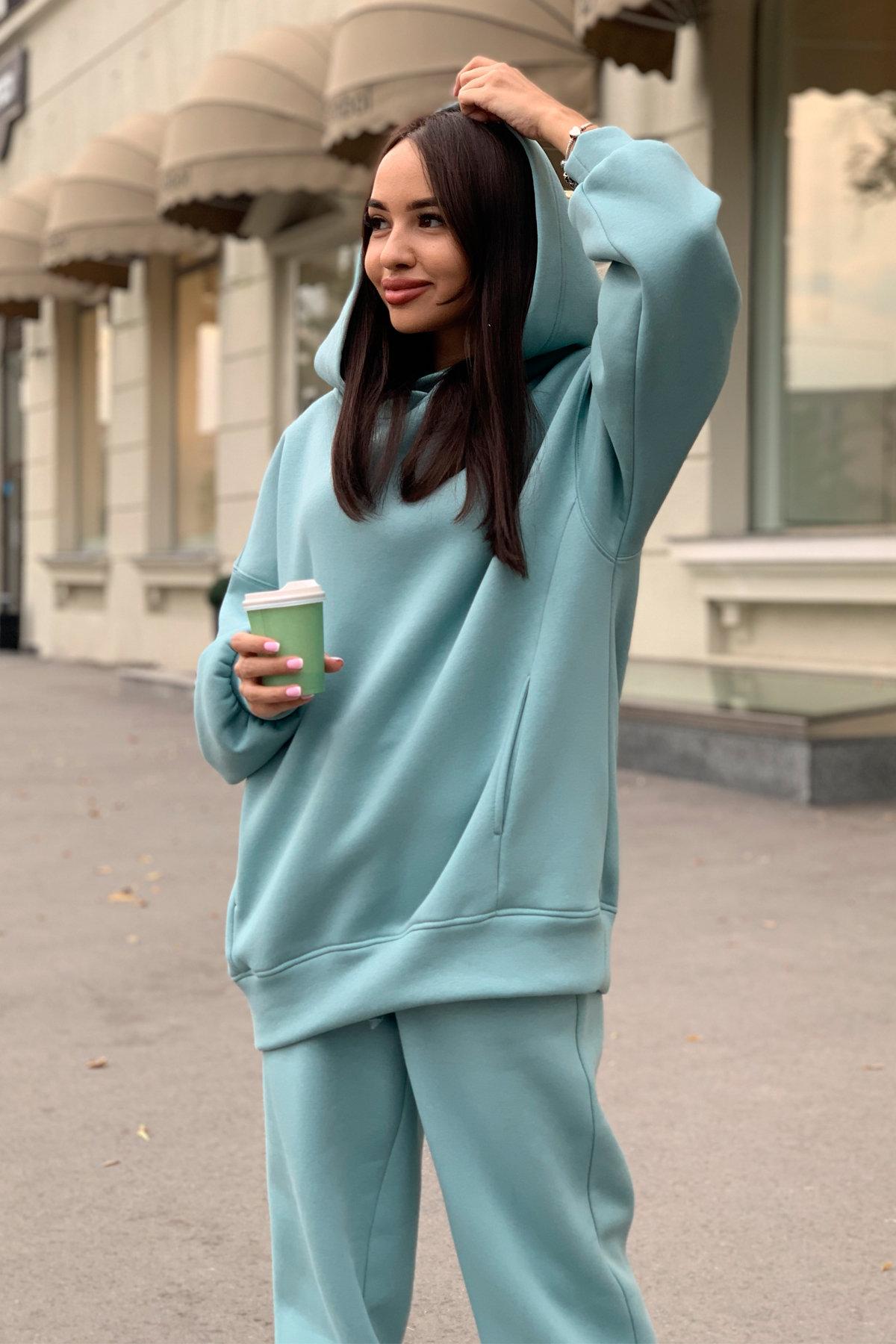Марион костюм в  стиле Oversize  3х нитка 9651 АРТ. 45983 Цвет: Олива - фото 7, интернет магазин tm-modus.ru