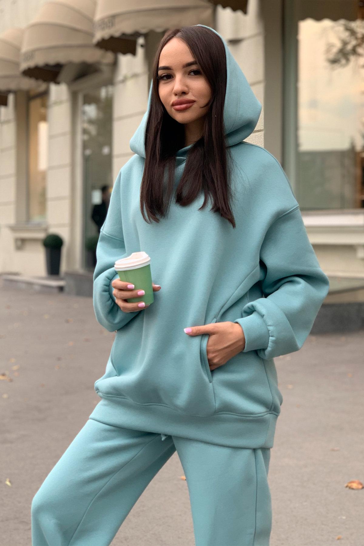 Марион костюм в  стиле Oversize  3х нитка 9651 АРТ. 45983 Цвет: Олива - фото 8, интернет магазин tm-modus.ru