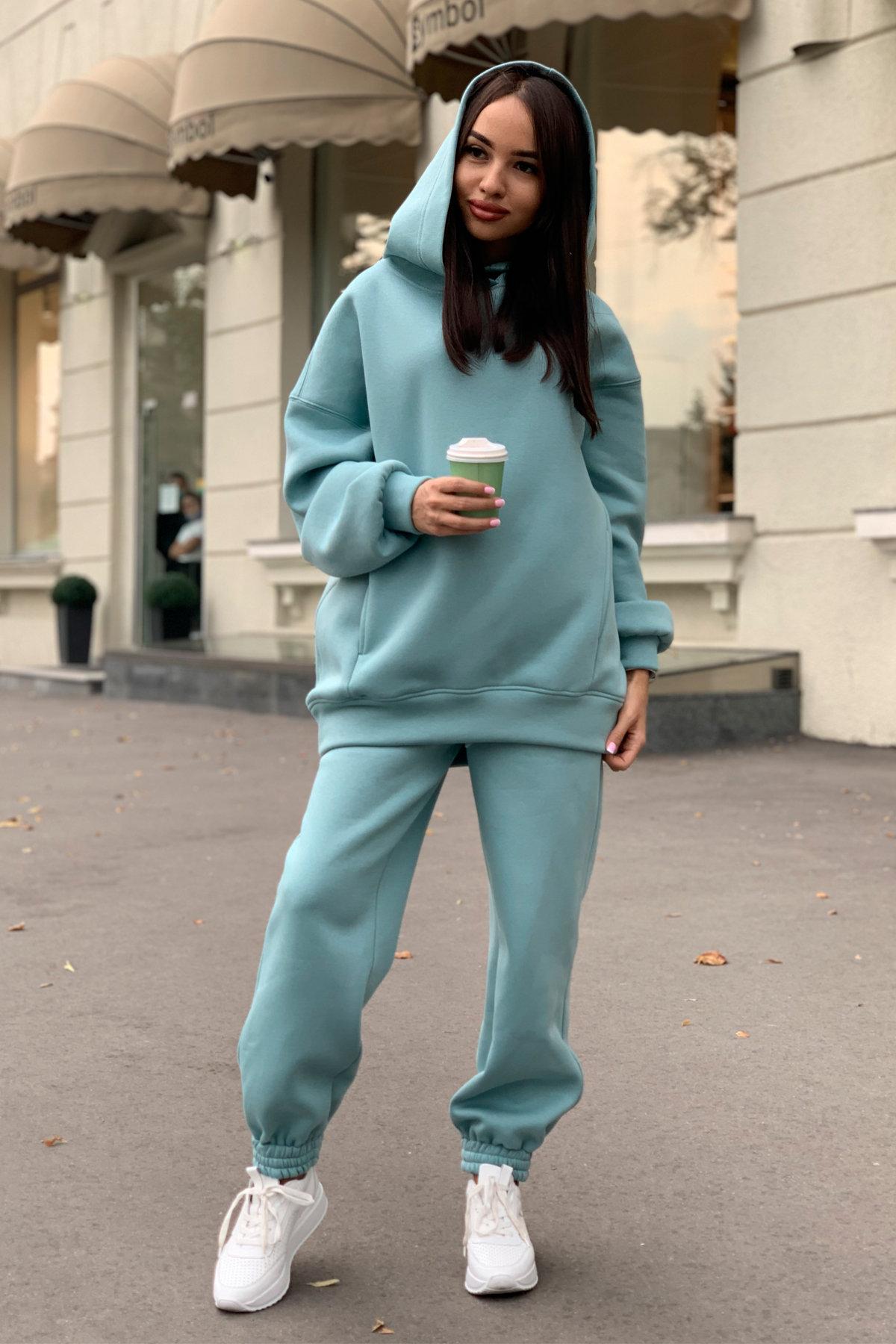 Марион костюм в  стиле Oversize  3х нитка 9651 АРТ. 45983 Цвет: Олива - фото 10, интернет магазин tm-modus.ru