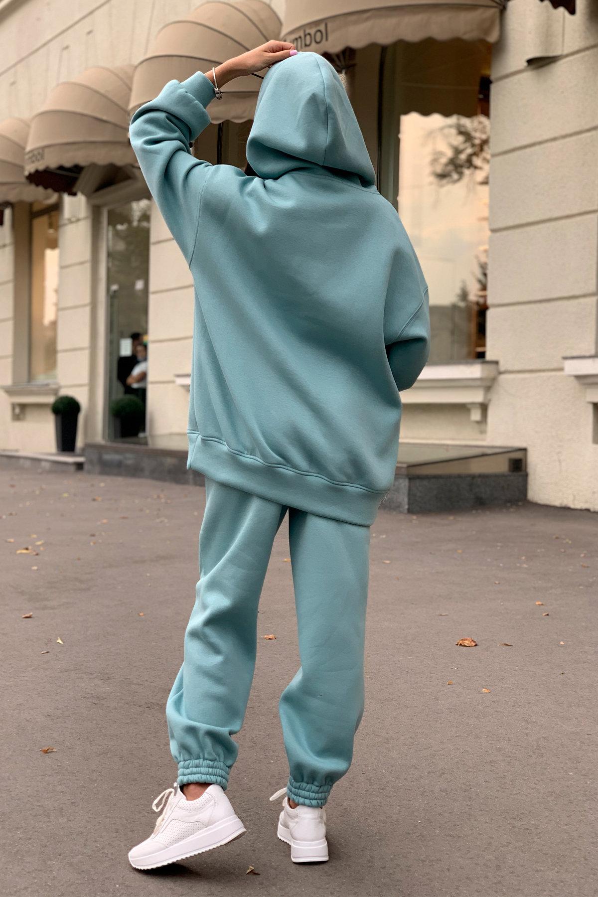Марион костюм в  стиле Oversize  3х нитка 9651 АРТ. 45983 Цвет: Олива - фото 11, интернет магазин tm-modus.ru
