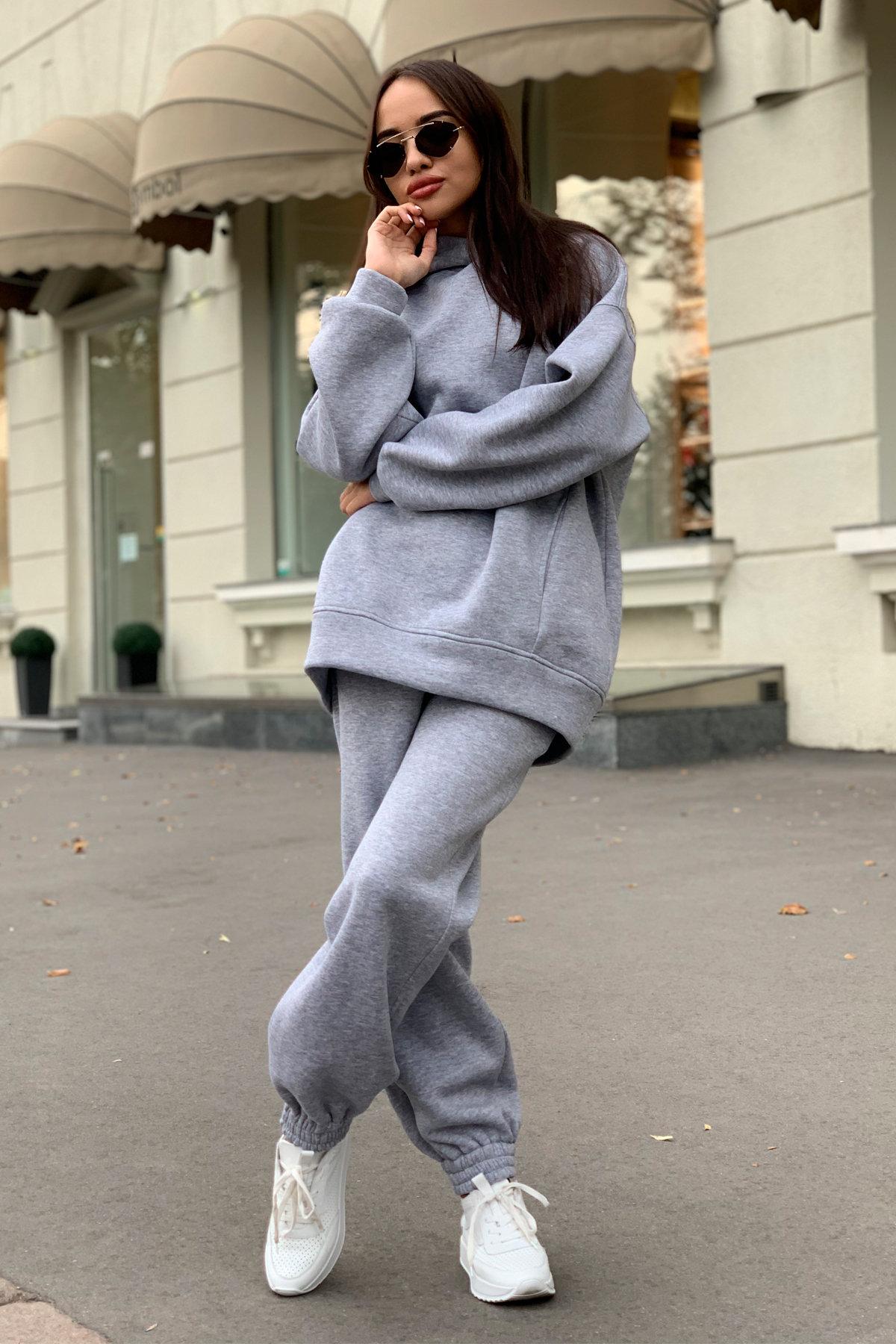 Костюм Марион 9651 АРТ. 45985 Цвет: св.серый меланж - фото 2, интернет магазин tm-modus.ru