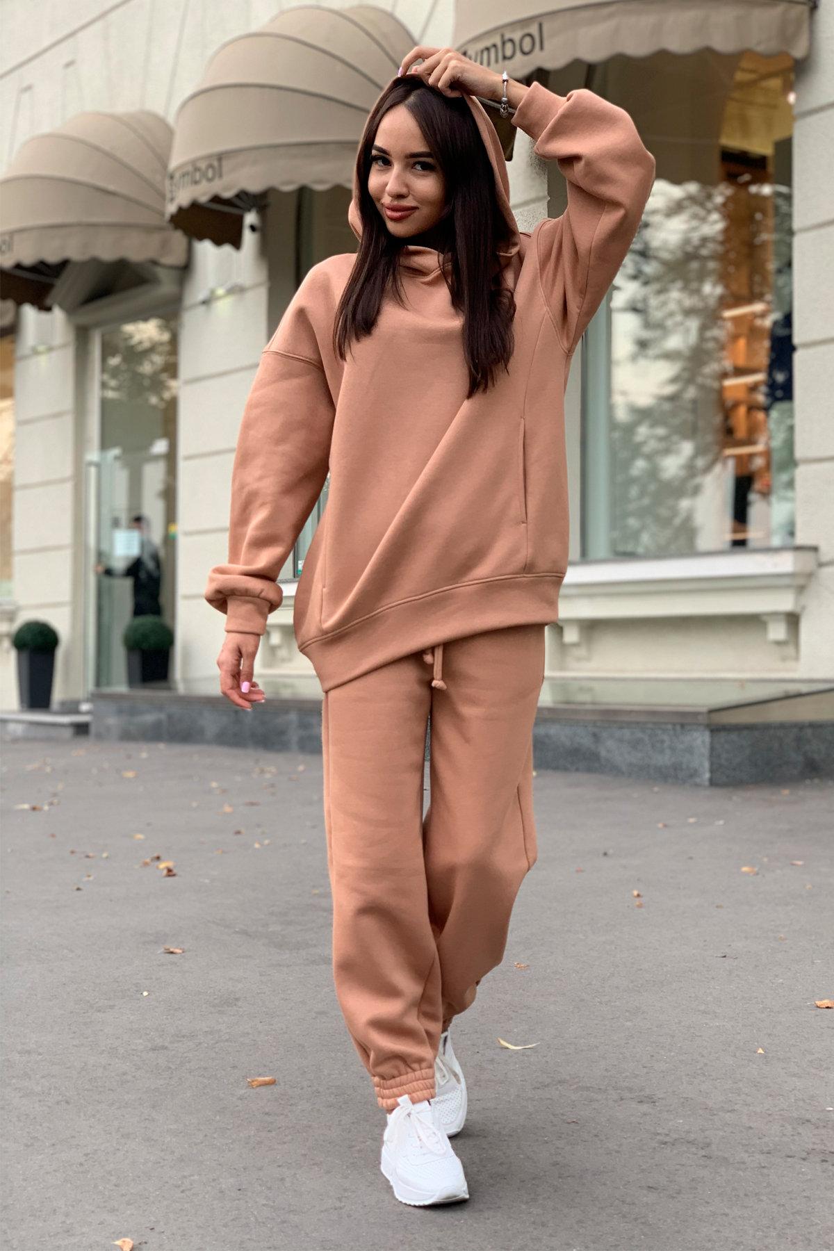 Марион костюм в  стиле Oversize  3х нитка 9651 АРТ. 45982 Цвет: Кемел - фото 4, интернет магазин tm-modus.ru
