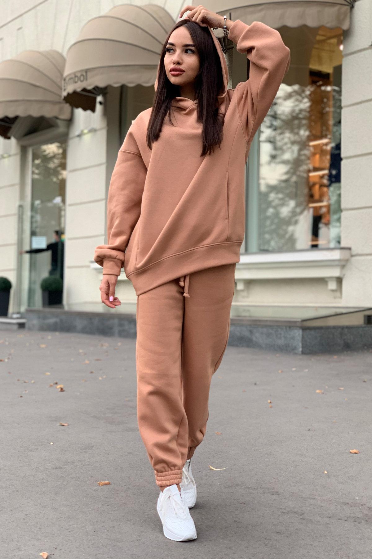 Марион костюм в  стиле Oversize  3х нитка 9651 АРТ. 45982 Цвет: Кемел - фото 5, интернет магазин tm-modus.ru