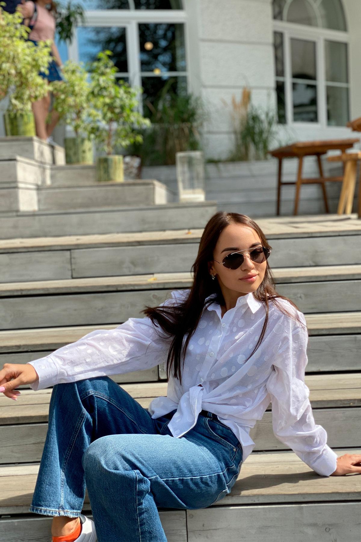 Блуза Эйплс 96242 АРТ. 45930 Цвет: Белый - фото 2, интернет магазин tm-modus.ru