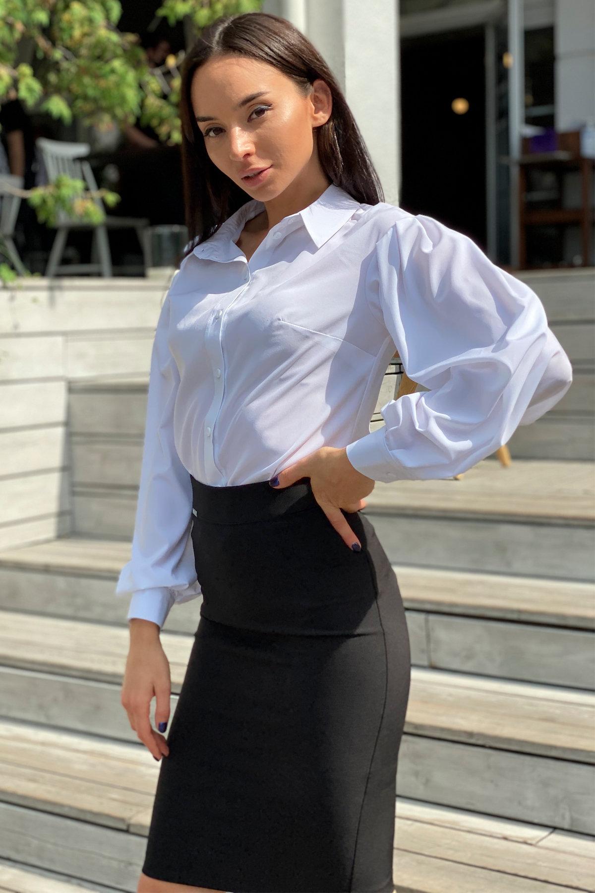 Блузка Гейм 9604 АРТ. 45924 Цвет: Белый - фото 5, интернет магазин tm-modus.ru