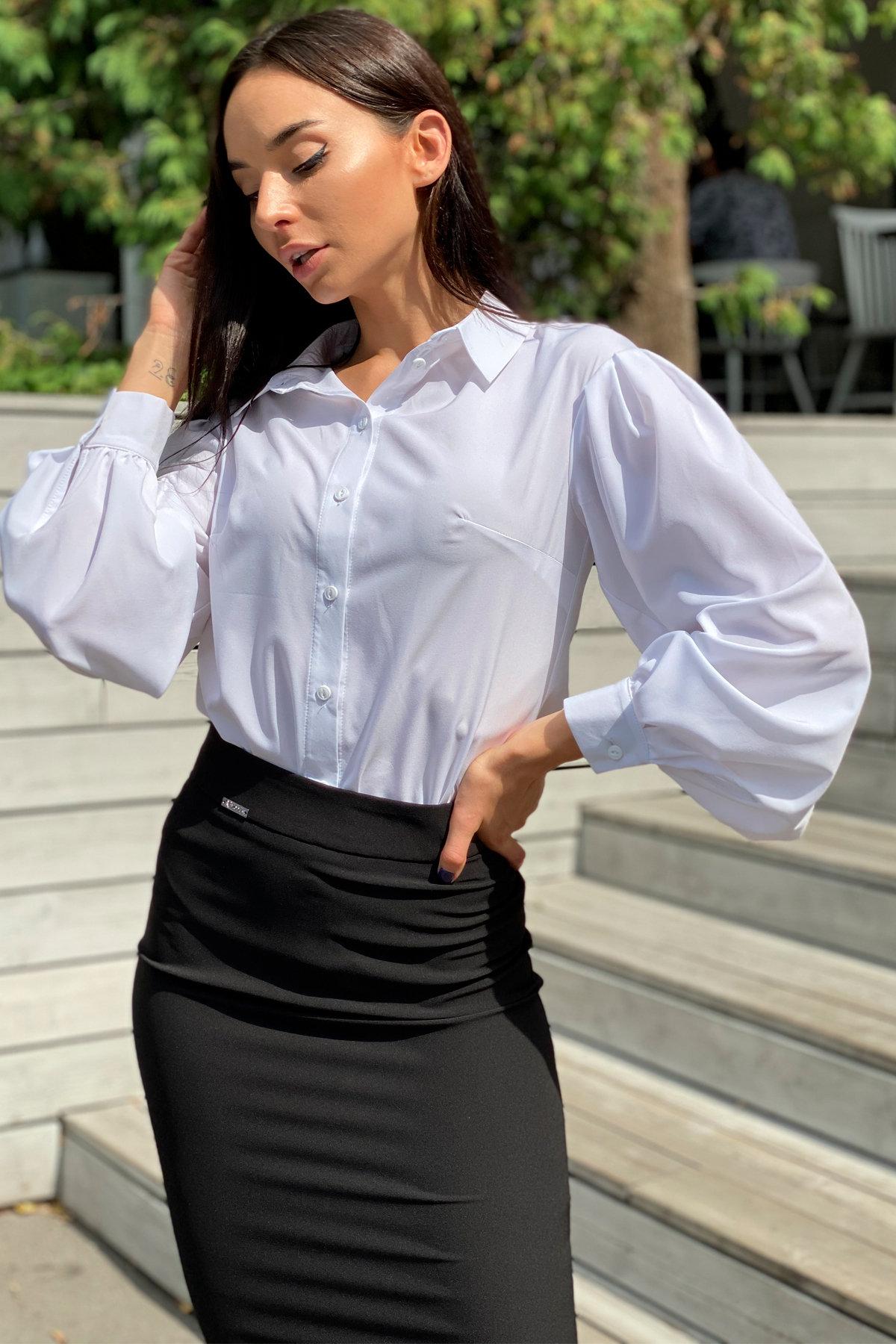 Блузка Гейм 9604 АРТ. 45924 Цвет: Белый - фото 7, интернет магазин tm-modus.ru