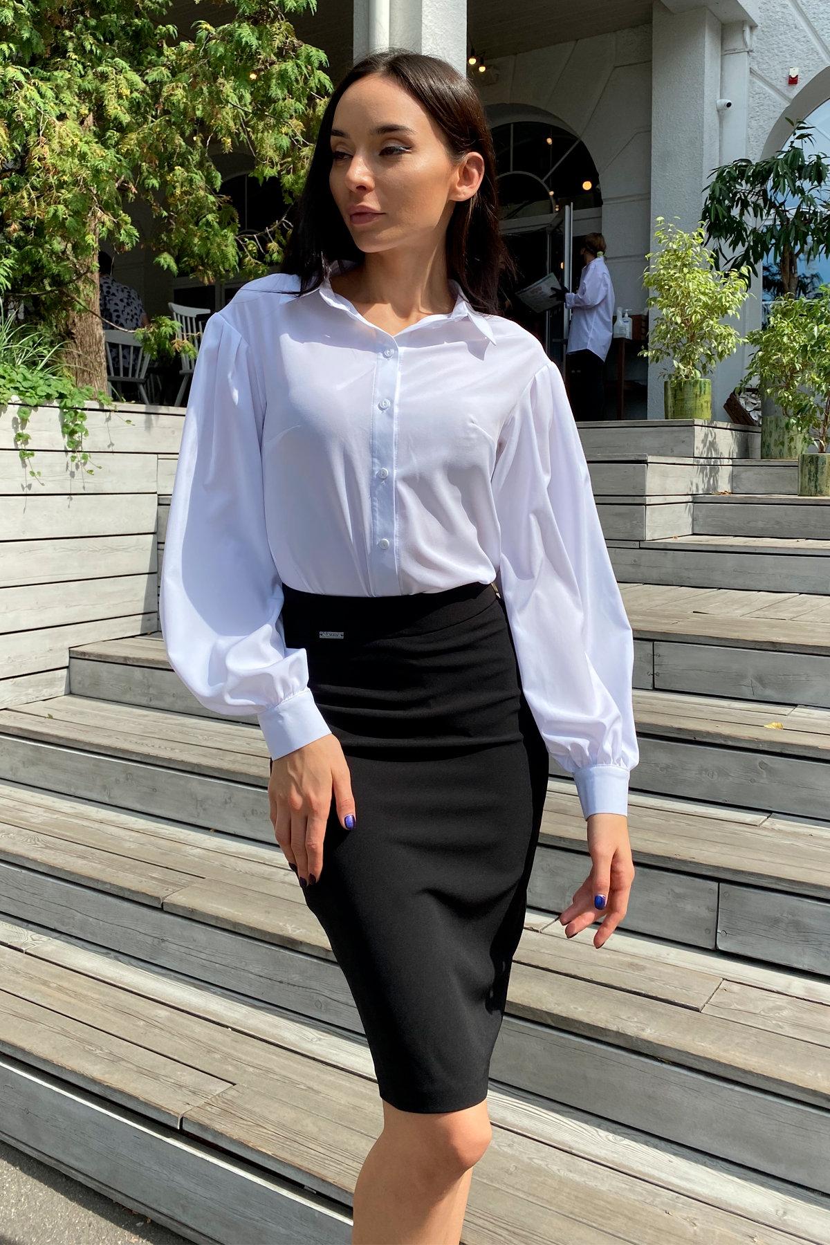 Блузка Гейм 9604 АРТ. 45924 Цвет: Белый - фото 9, интернет магазин tm-modus.ru
