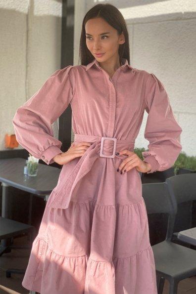 Лилия микровельвет платье 9679